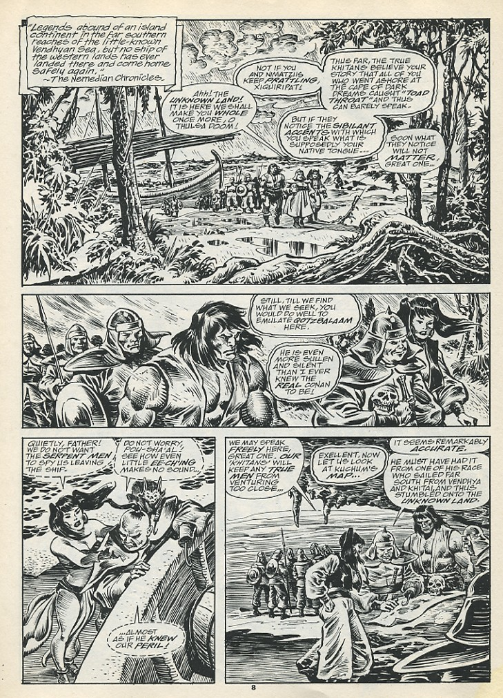 The Savage Sword Of Conan Issue #193 #194 - English 10
