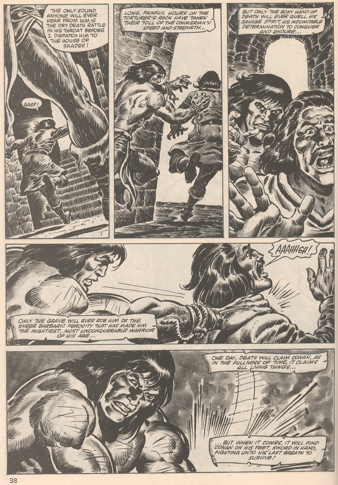 The Savage Sword Of Conan Issue #104 #105 - English 38