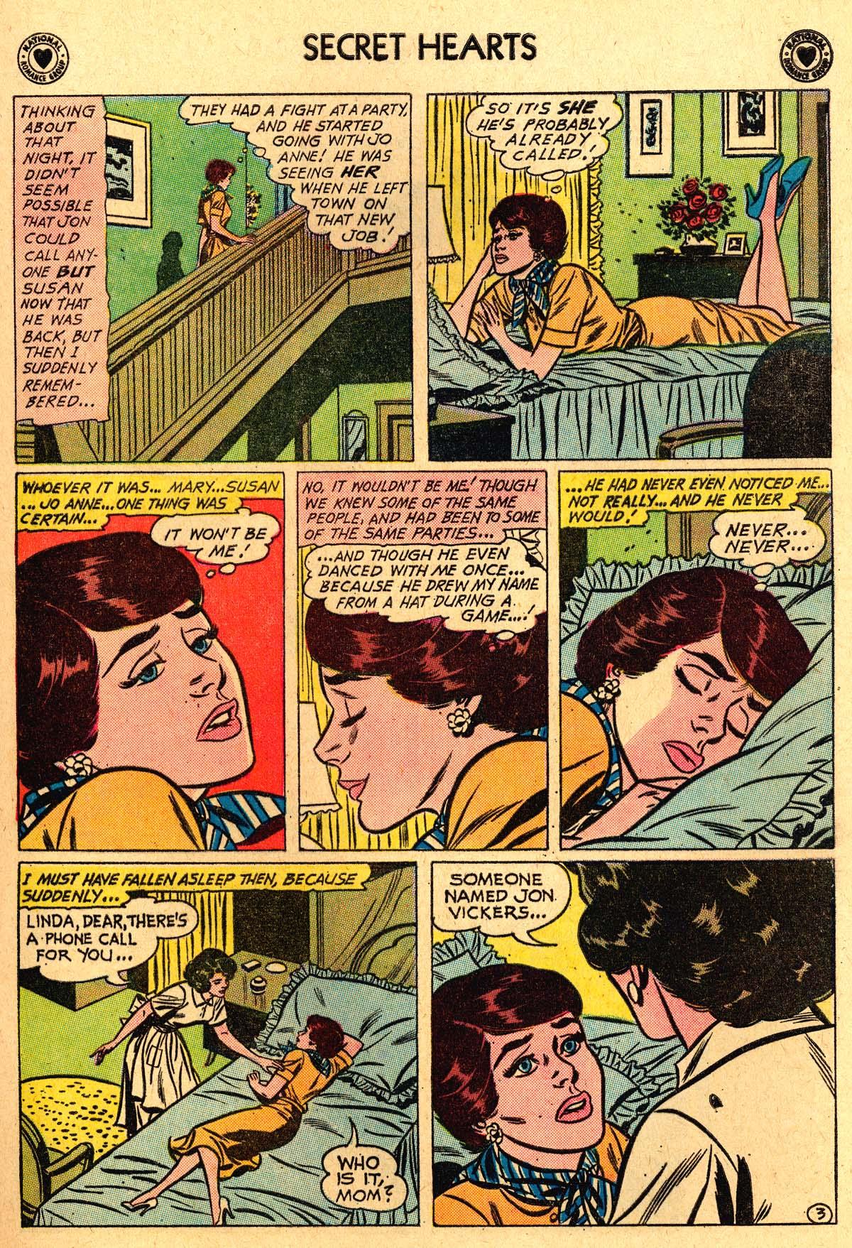 Read online Secret Hearts comic -  Issue #69 - 13