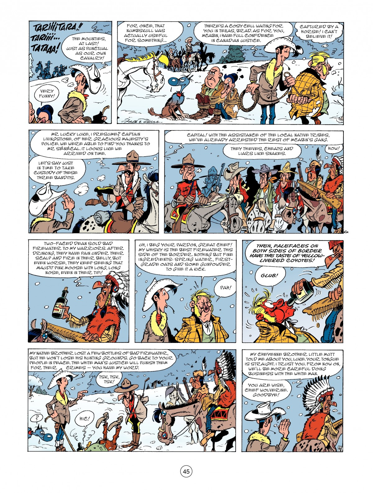 A Lucky Luke Adventure 52 Page 46