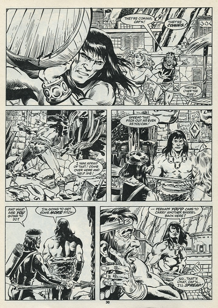The Savage Sword Of Conan Issue #182 #183 - English 32