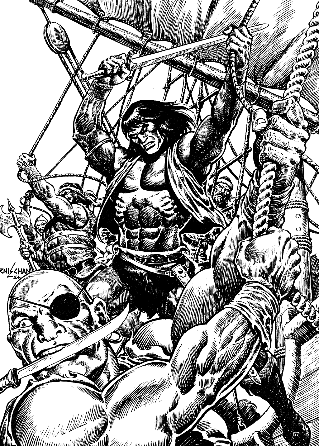 The Savage Sword Of Conan Issue #110 #111 - English 55