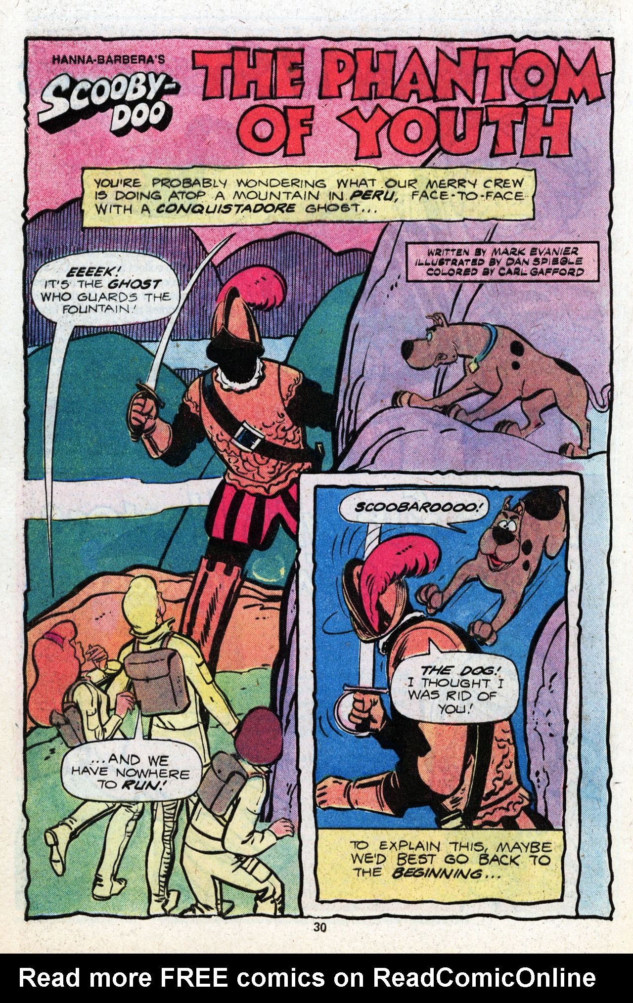 Read online Scooby-Doo (1977) comic -  Issue #8 - 31