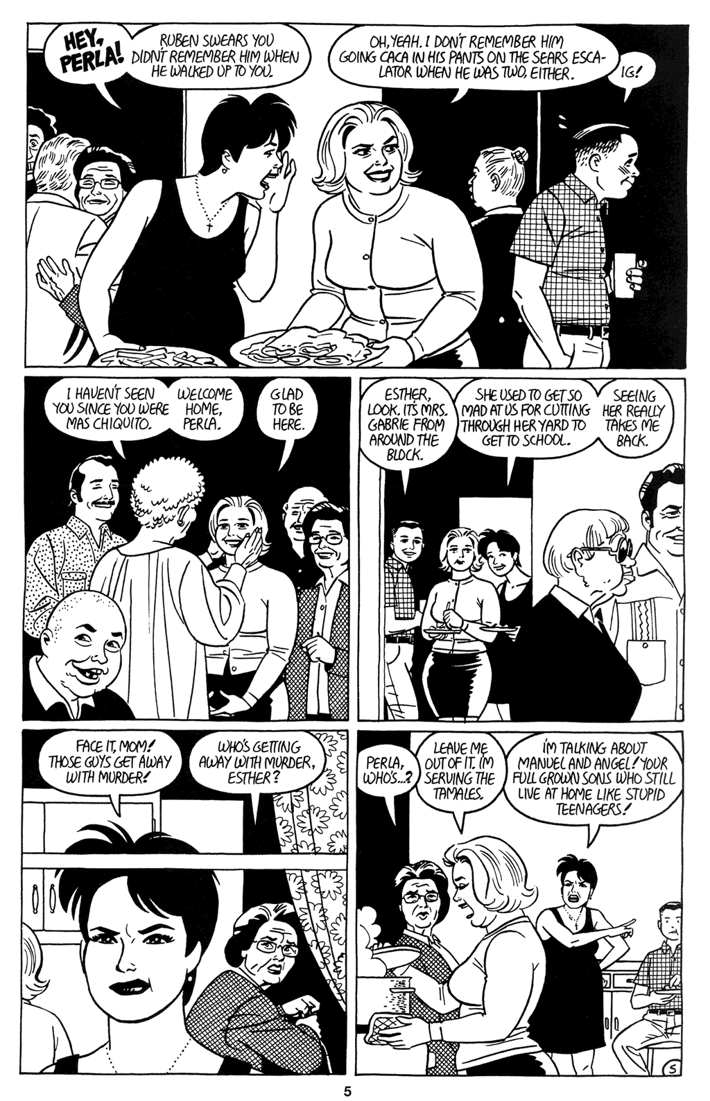 Read online Love and Rockets (2001) comic -  Issue #9 - 7