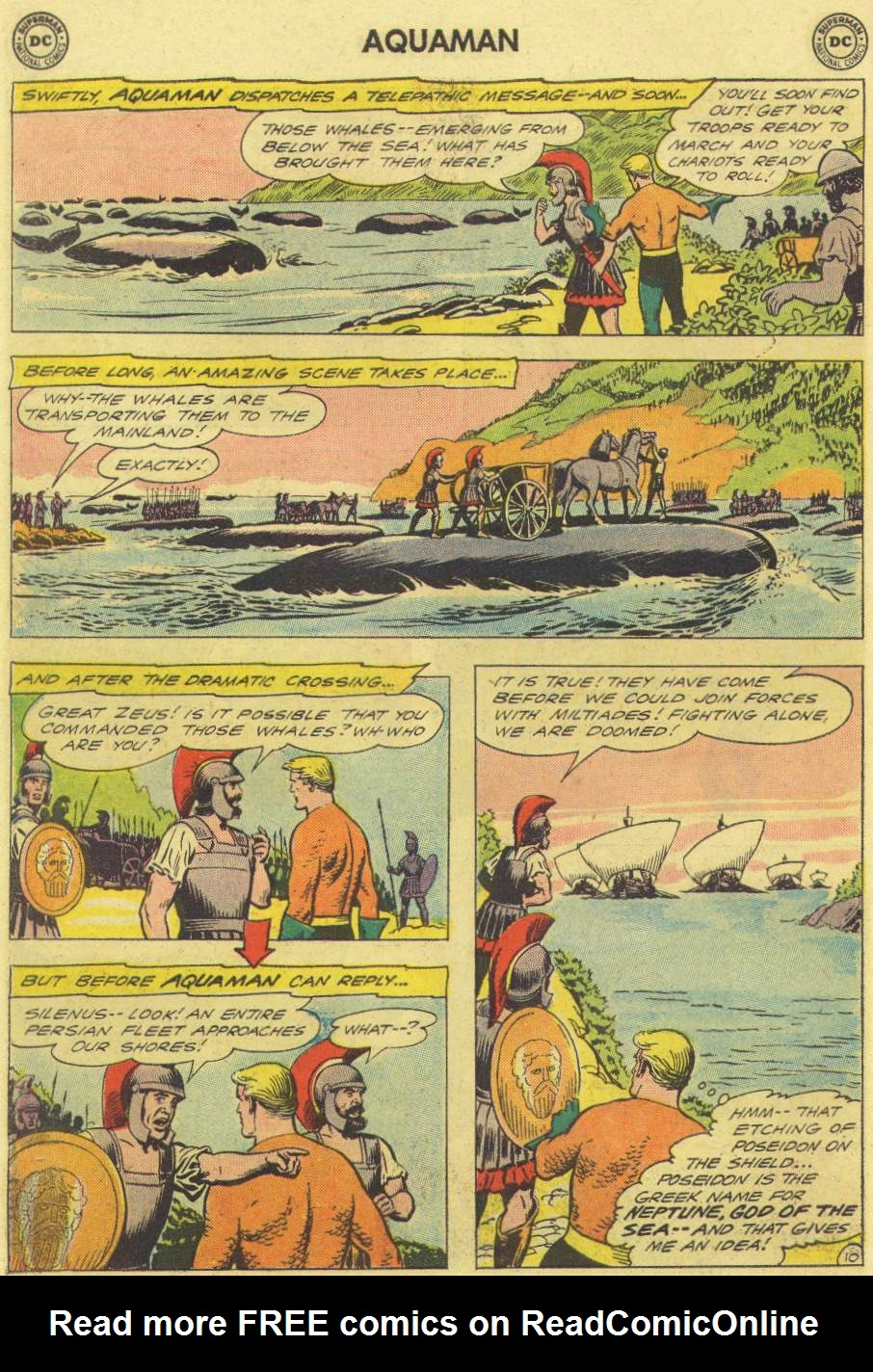 Aquaman (1962) Issue #3 #3 - English 14