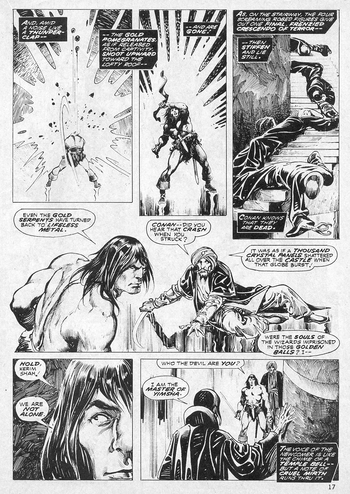 The Savage Sword Of Conan Issue #19 #20 - English 17