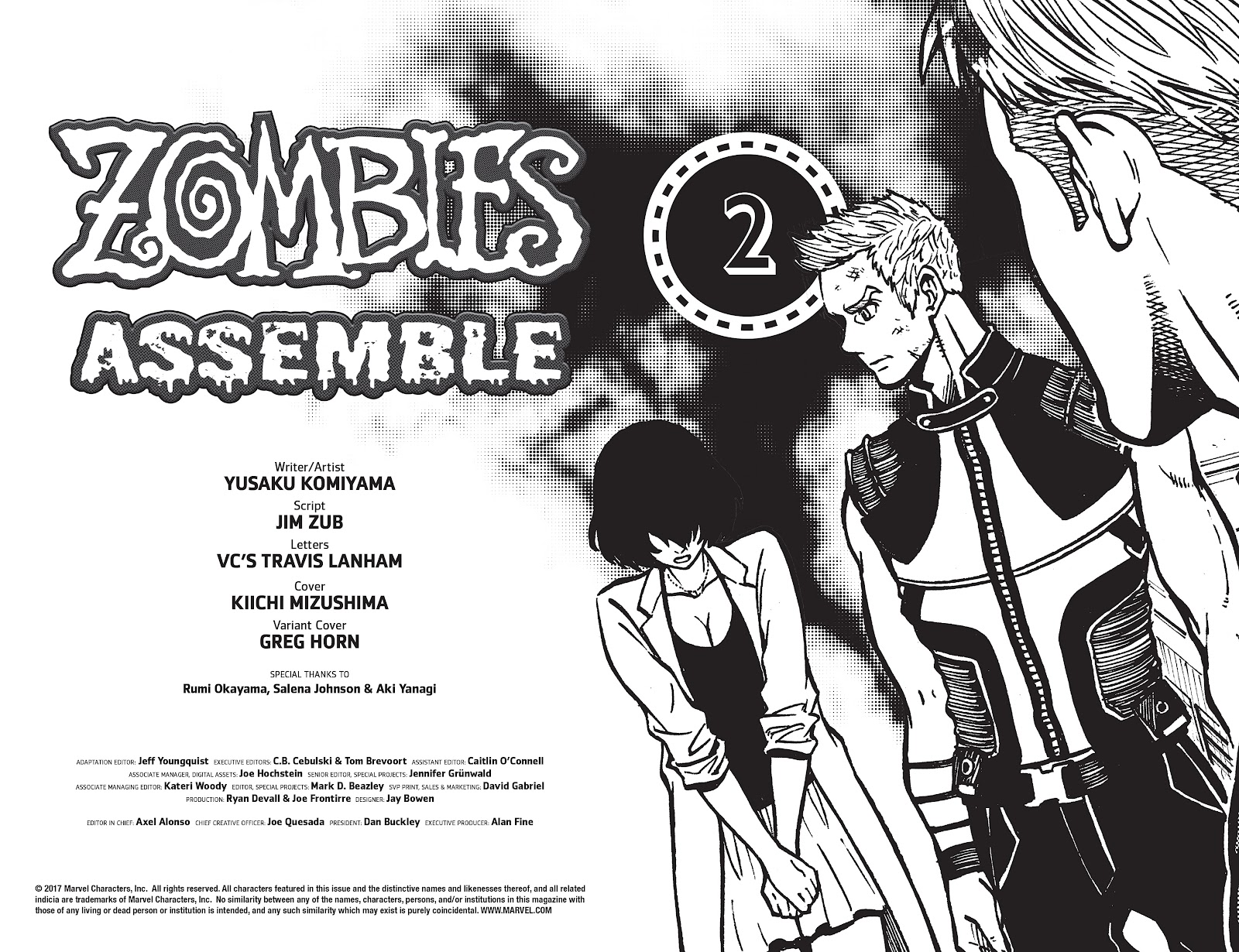 Zombies Assemble Issue #2 Page 4