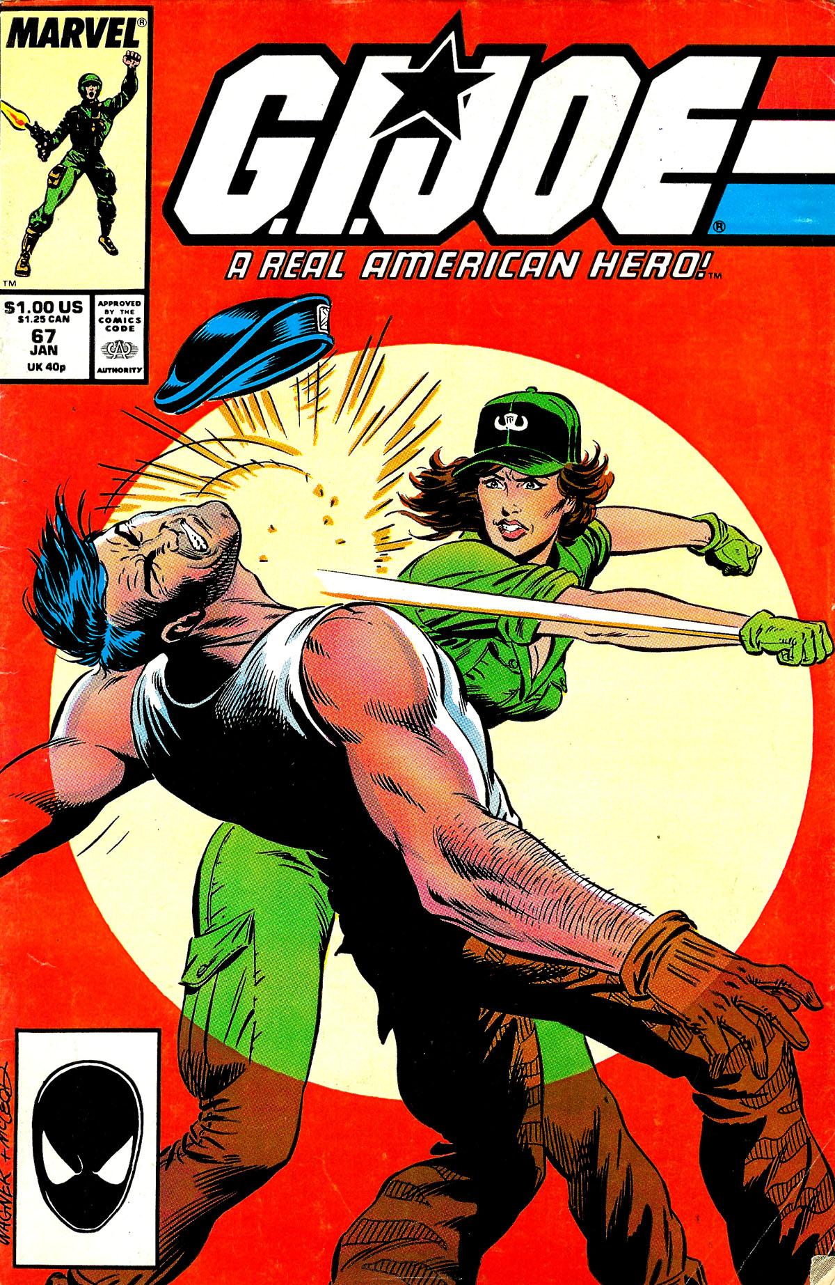 G.I. Joe: A Real American Hero 67 Page 1