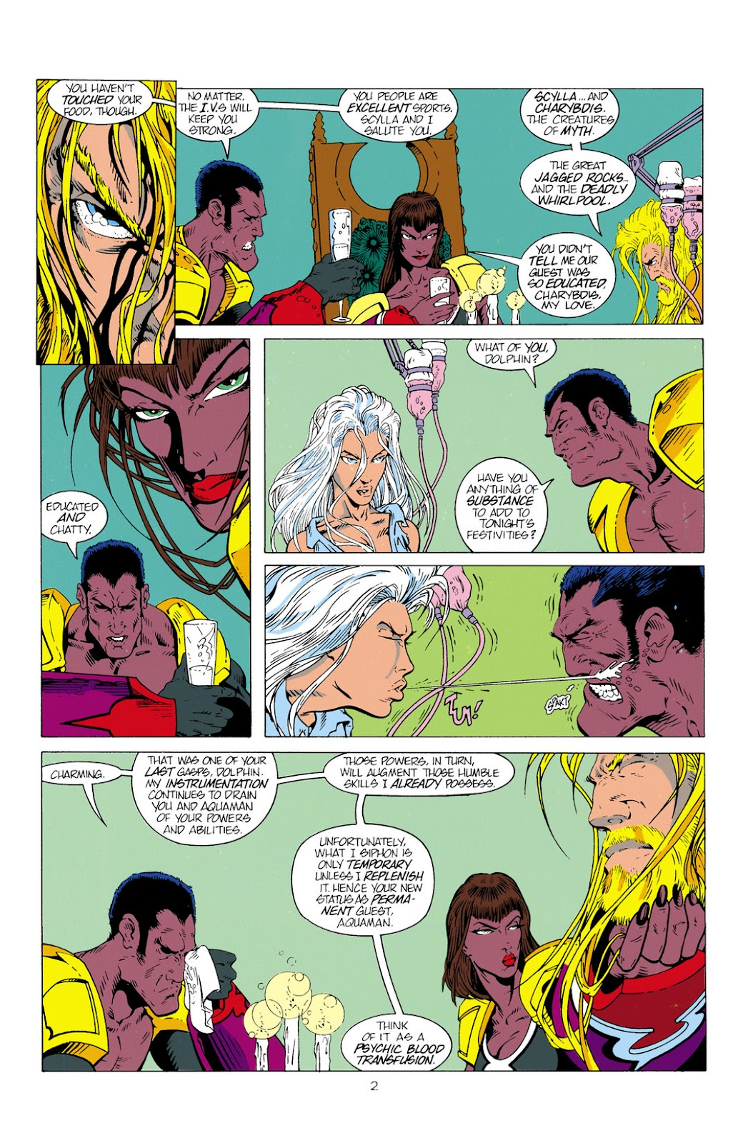 Aquaman (1994) Issue #2 #8 - English 3