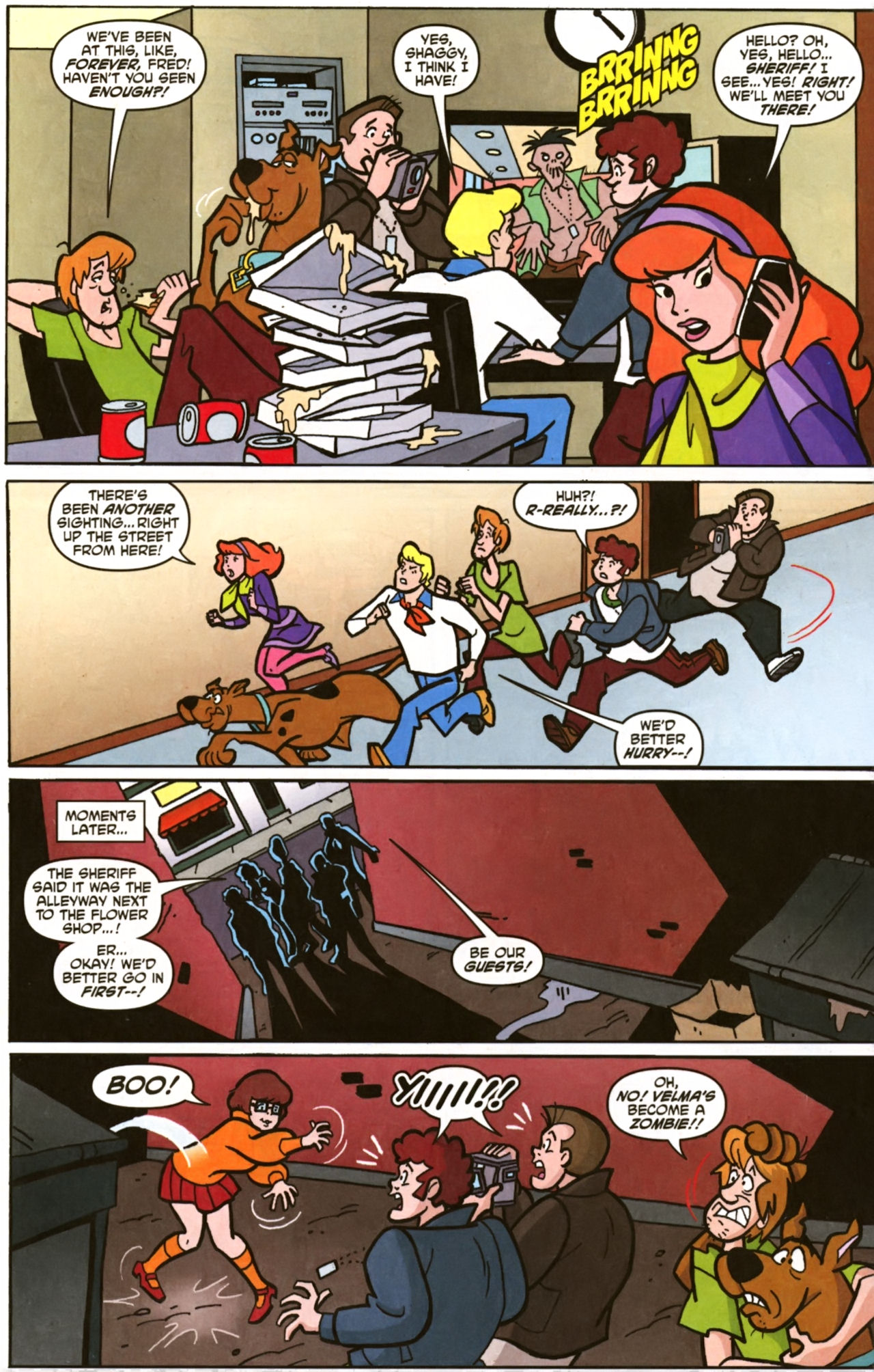 Read online Scooby-Doo (1997) comic -  Issue #157 - 12