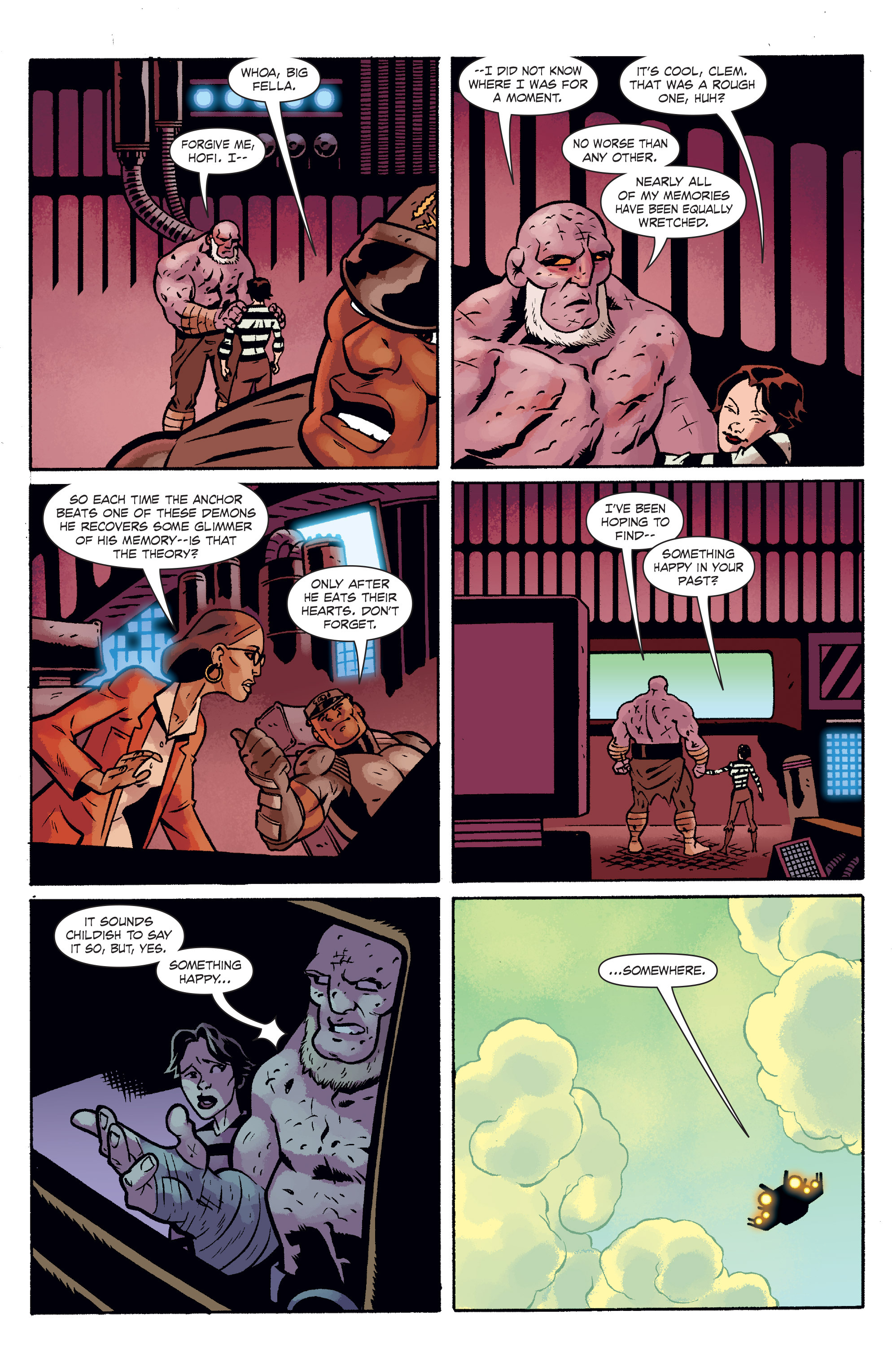 Read online The Anchor comic -  Issue # TPB 2 - 15