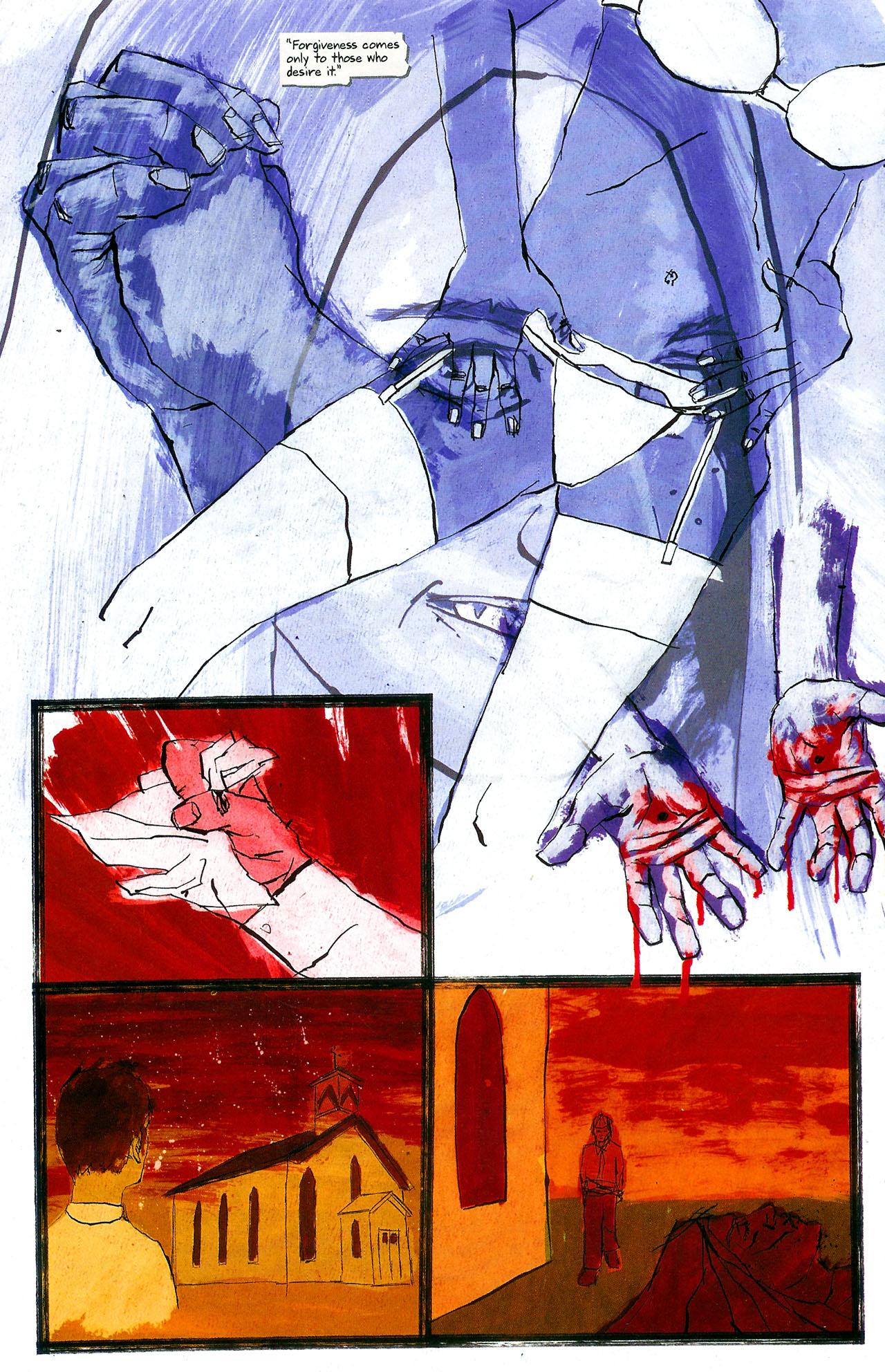 Read online Se7en comic -  Issue #4 - 25