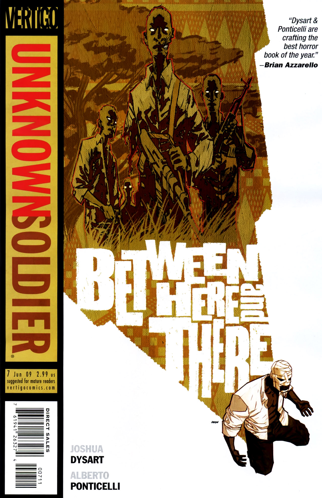 Unknown Soldier (2008) issue 7 - Page 1