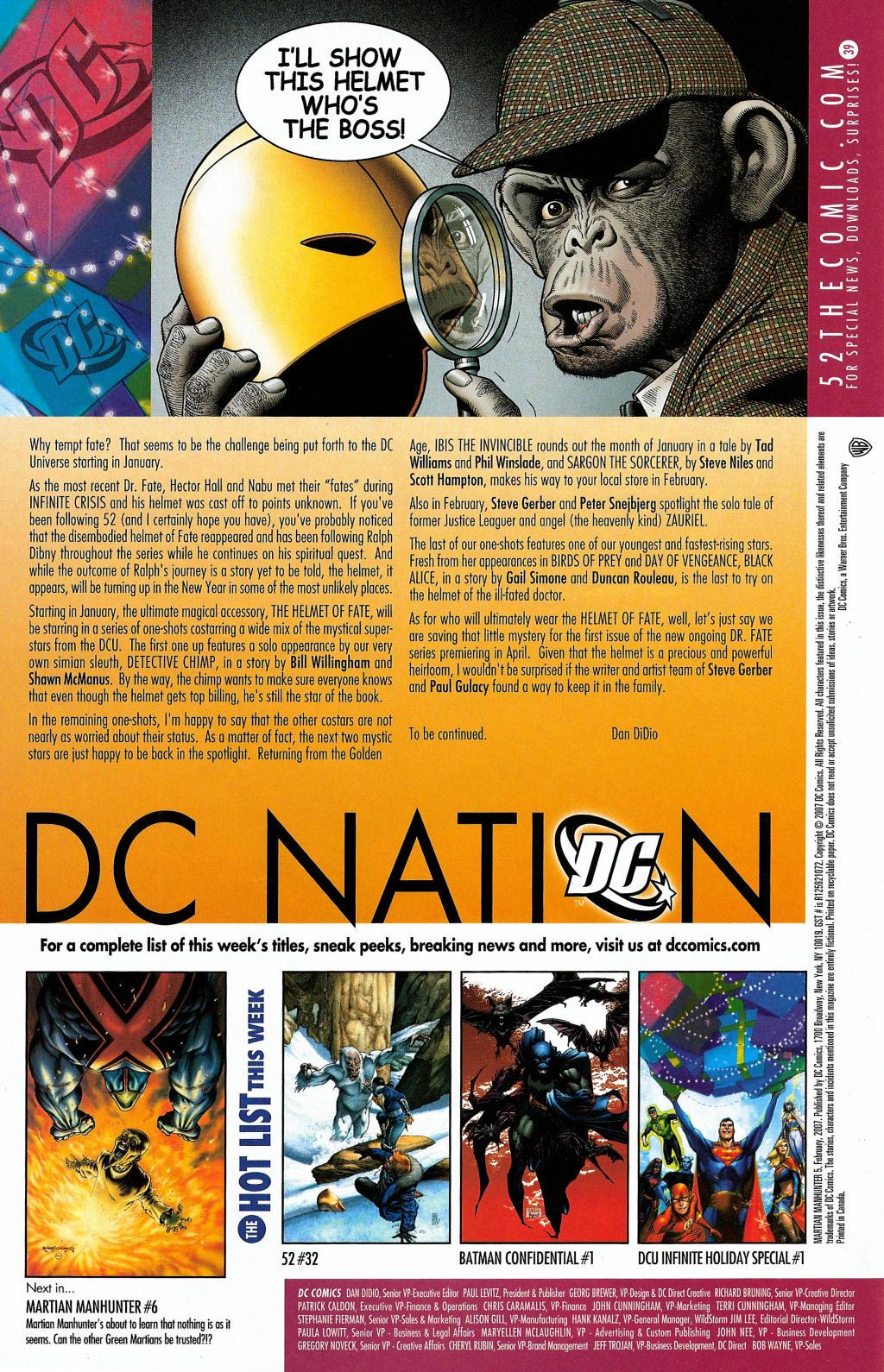 Read online Martian Manhunter (2006) comic -  Issue #5 - 34