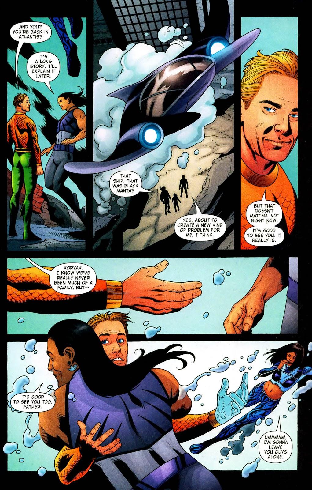 Aquaman (2003) Issue #33 #33 - English 14