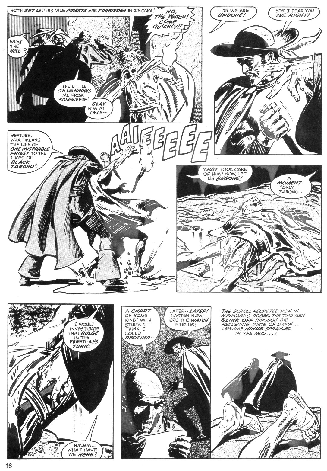 The Savage Sword Of Conan Issue #40 #41 - English 16