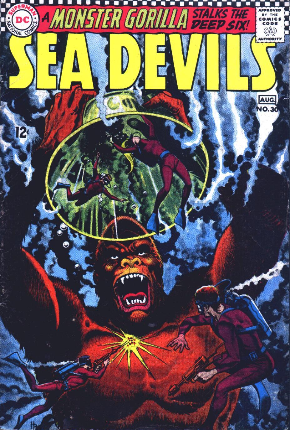Read online Sea Devils comic -  Issue #30 - 2