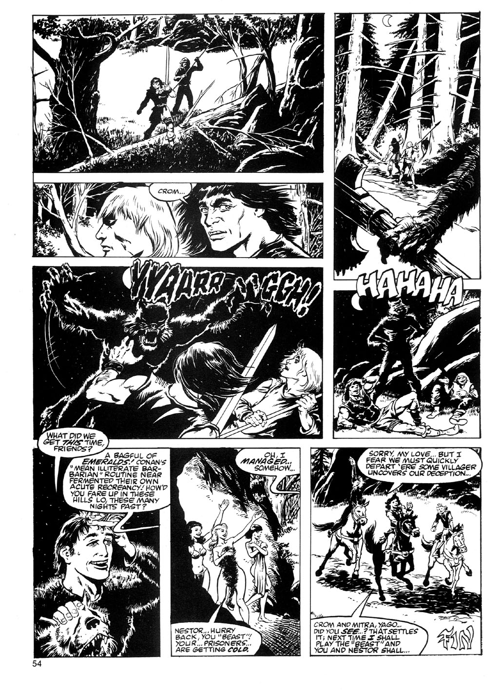 The Savage Sword Of Conan Issue #91 #92 - English 51