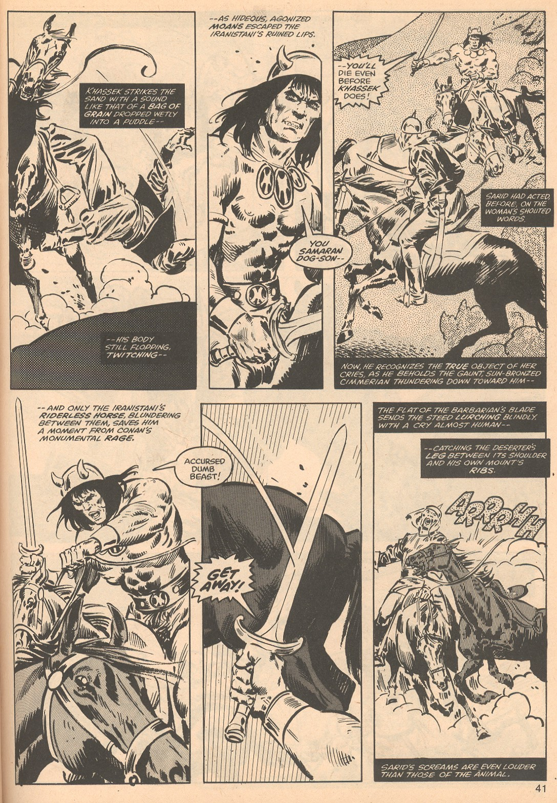 The Savage Sword Of Conan Issue #56 #57 - English 41