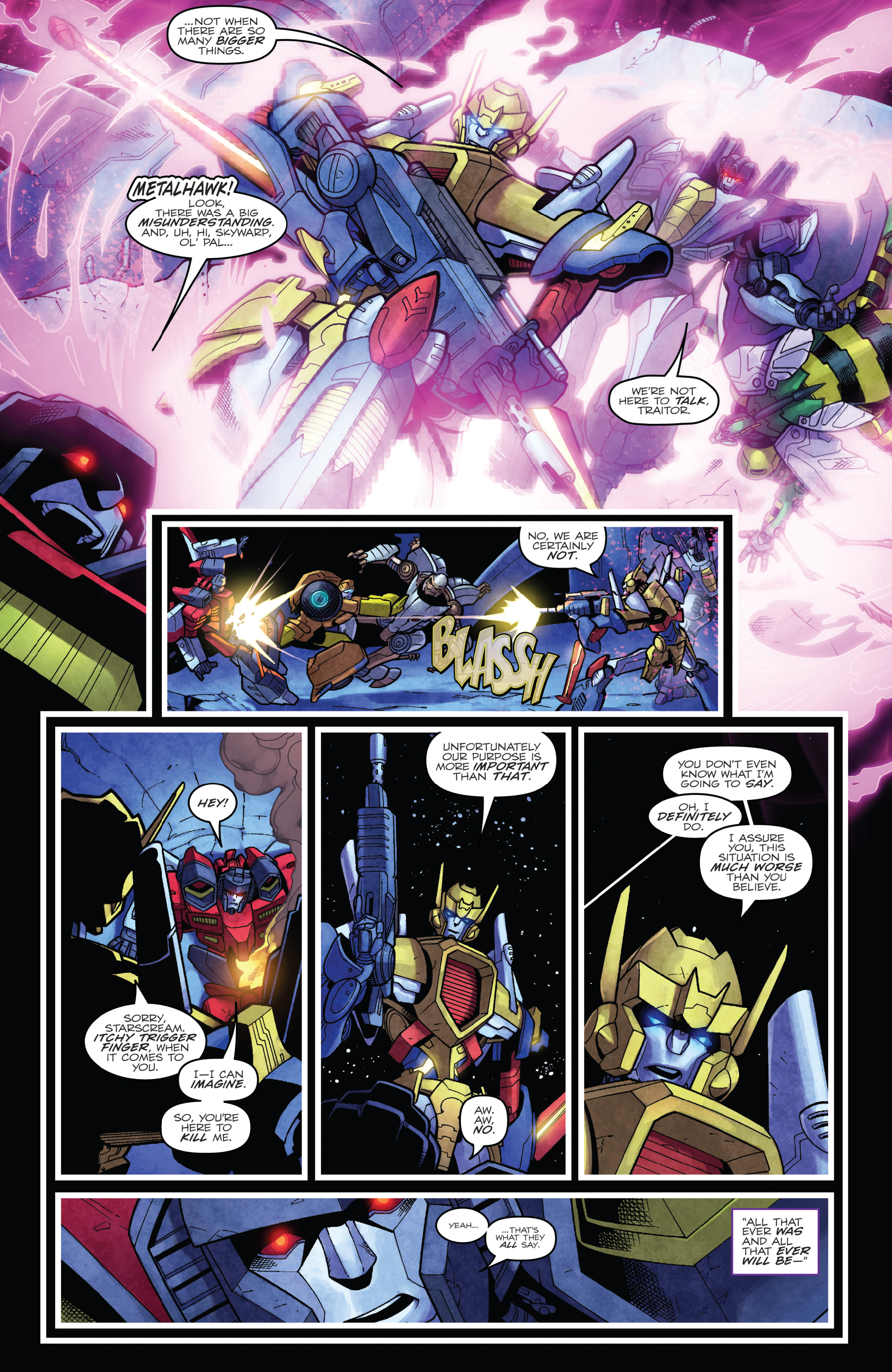 Read online The Transformers: Dark Cybertron Finale comic -  Issue # Full - 97