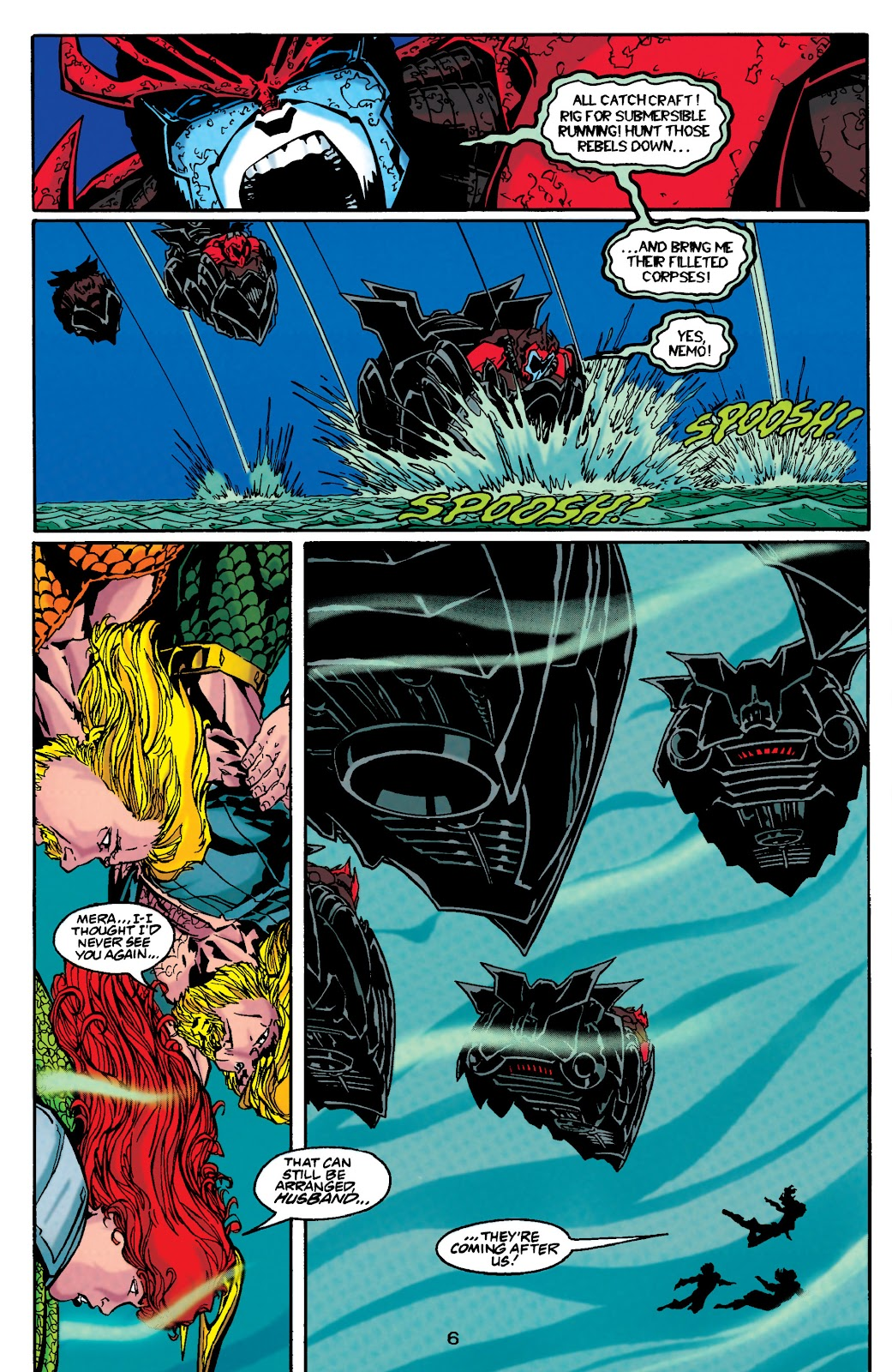 Aquaman (1994) Issue #48 #54 - English 6