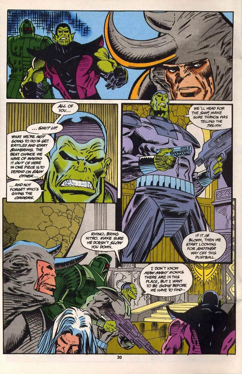 Read online Secret Defenders comic -  Issue #13 - 22