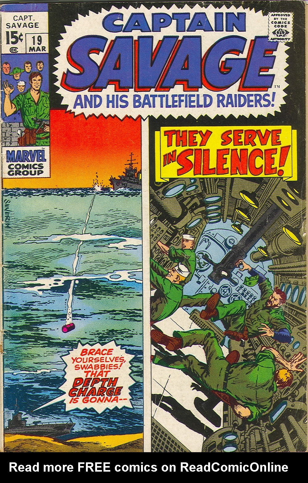 Captain Savage and his Leatherneck Raiders 19 Page 1