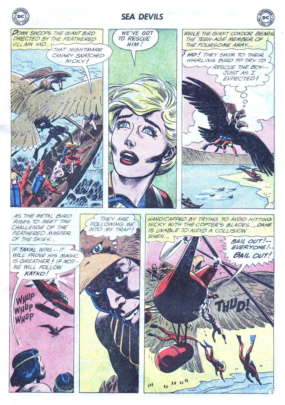 Read online Sea Devils comic -  Issue #4 - 24