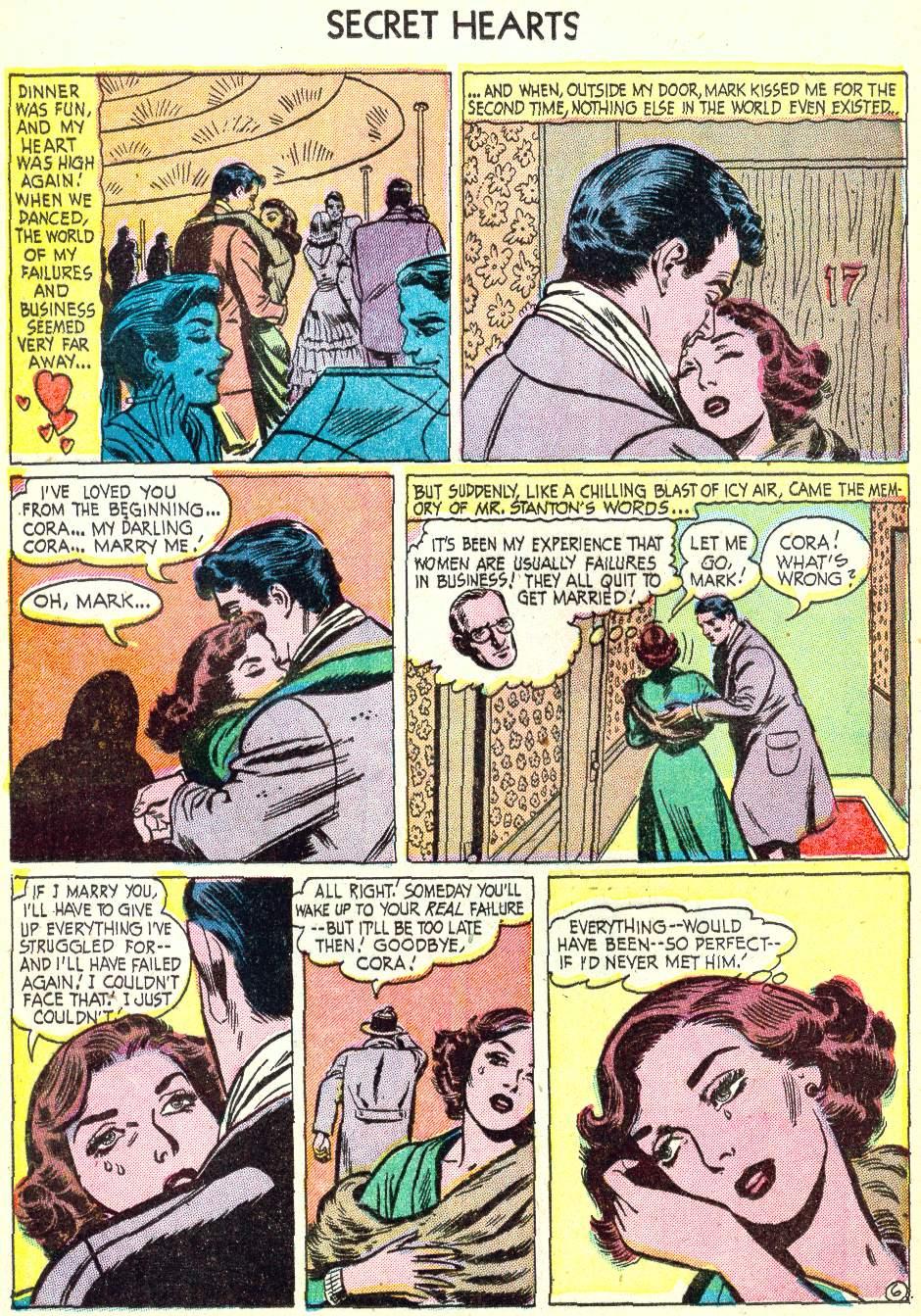 Read online Secret Hearts comic -  Issue #22 - 21