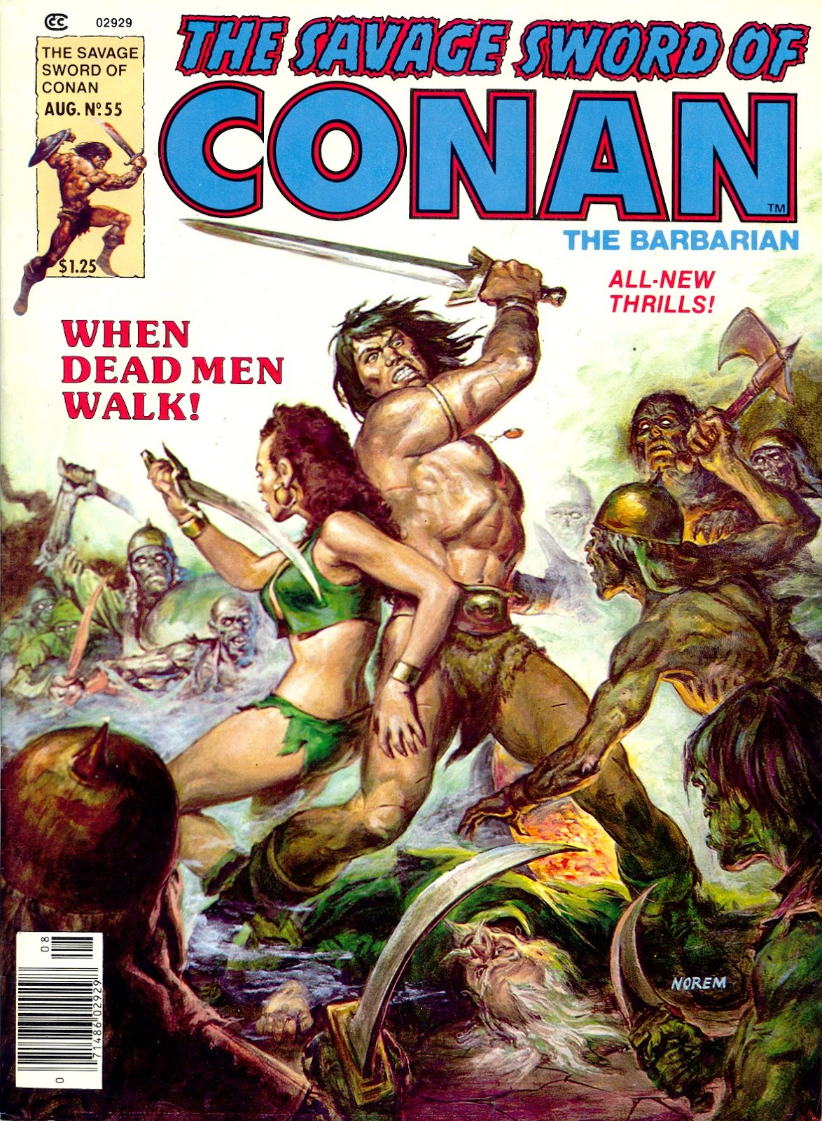 The Savage Sword Of Conan Issue #55 #56 - English 1