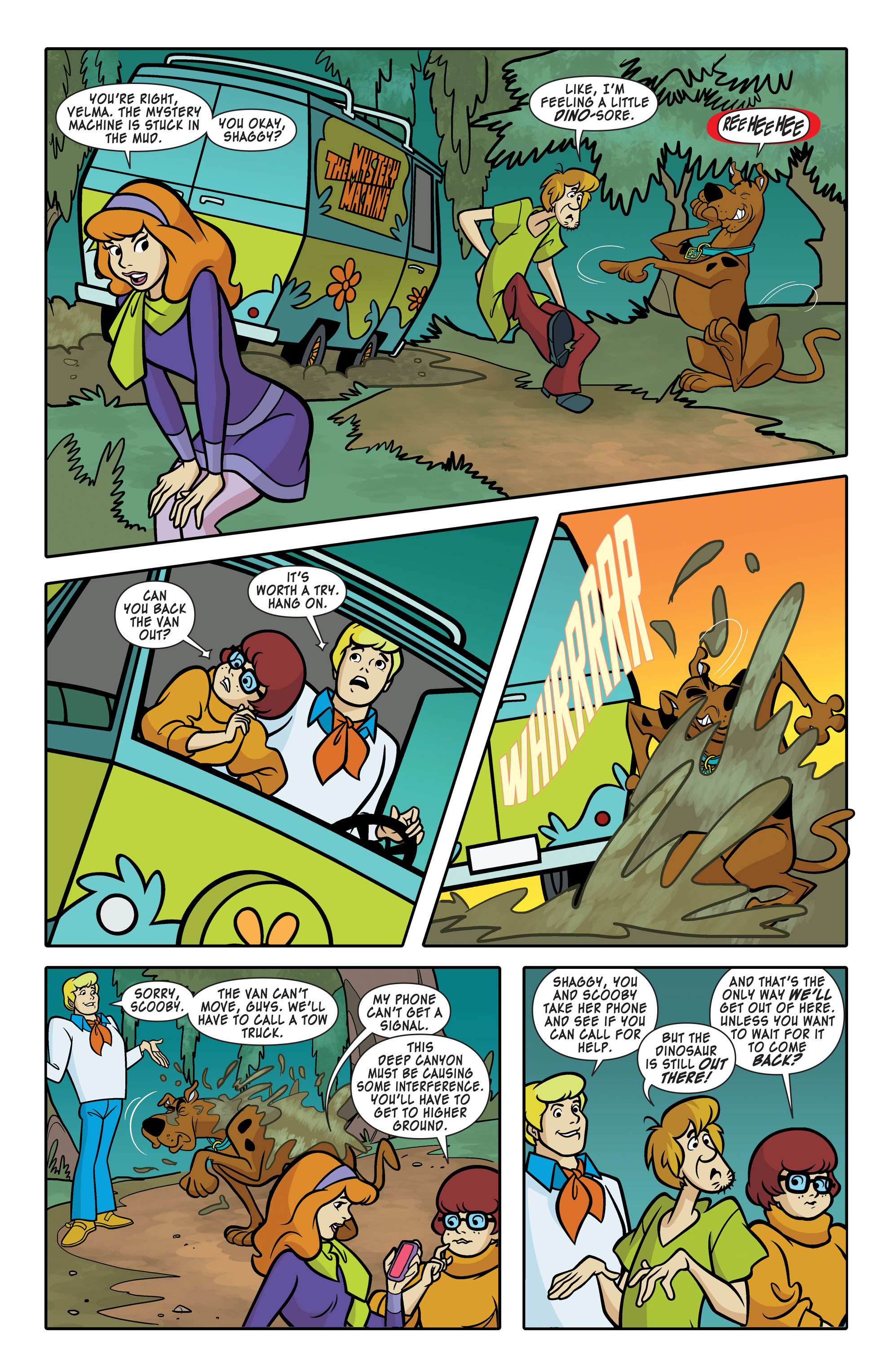 Read online Scooby-Doo: Where Are You? comic -  Issue #63 - 6