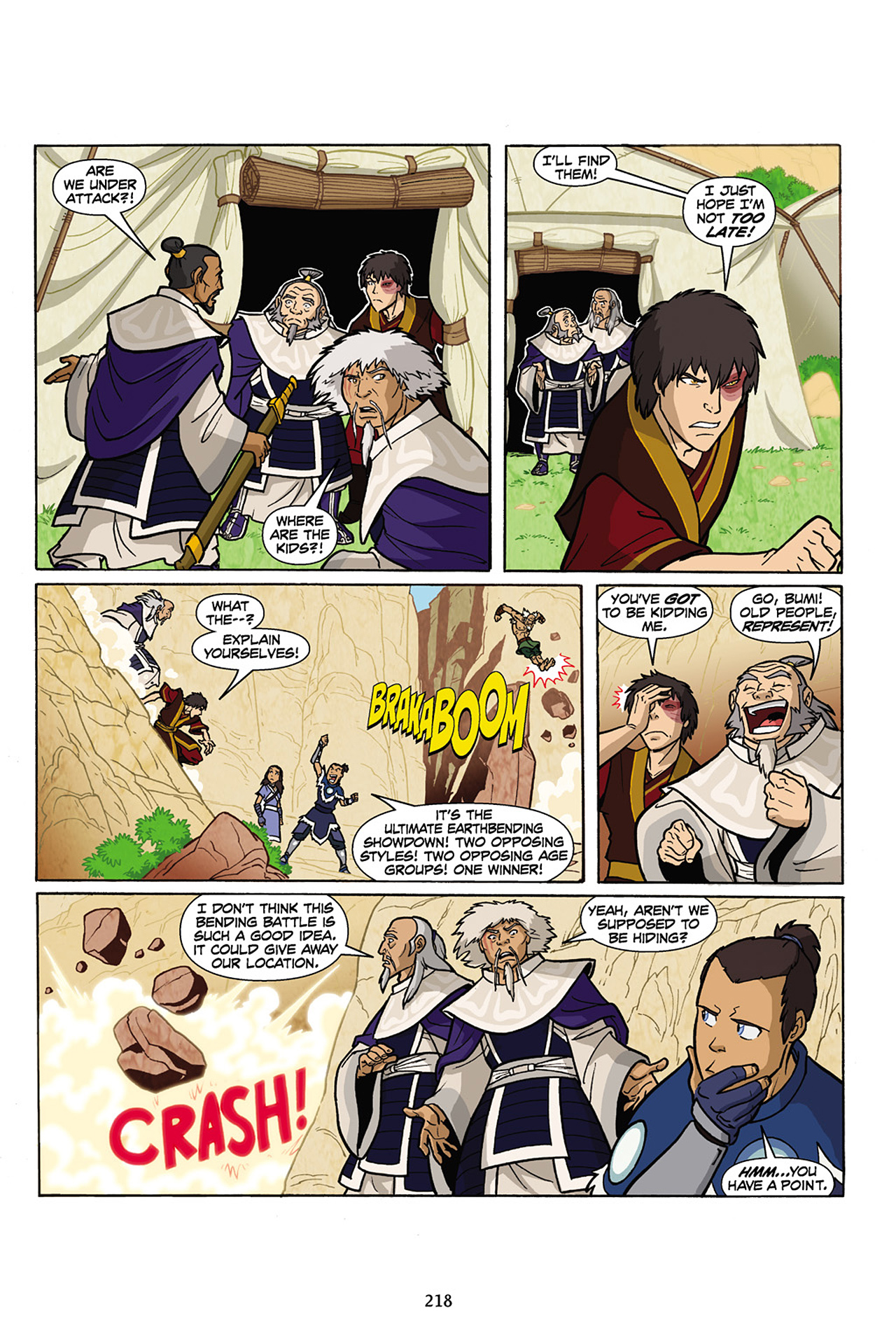 Nickelodeon Avatar: The Last Airbender - The Lost Adventures chap full pic 219