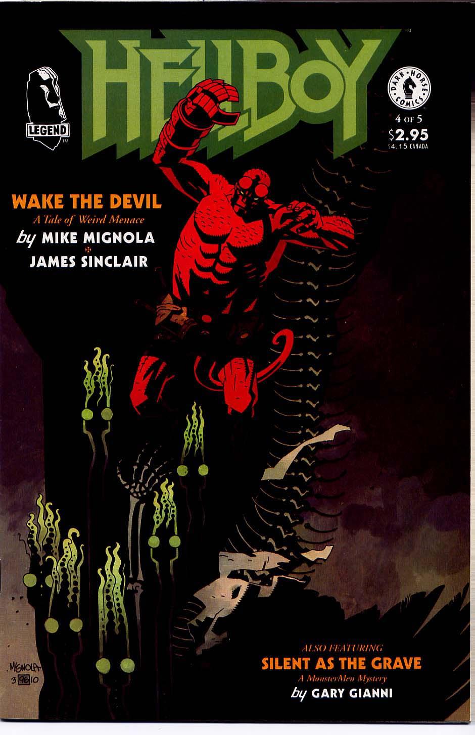 Hellboy: Wake the Devil Issue #4 #4 - English 1