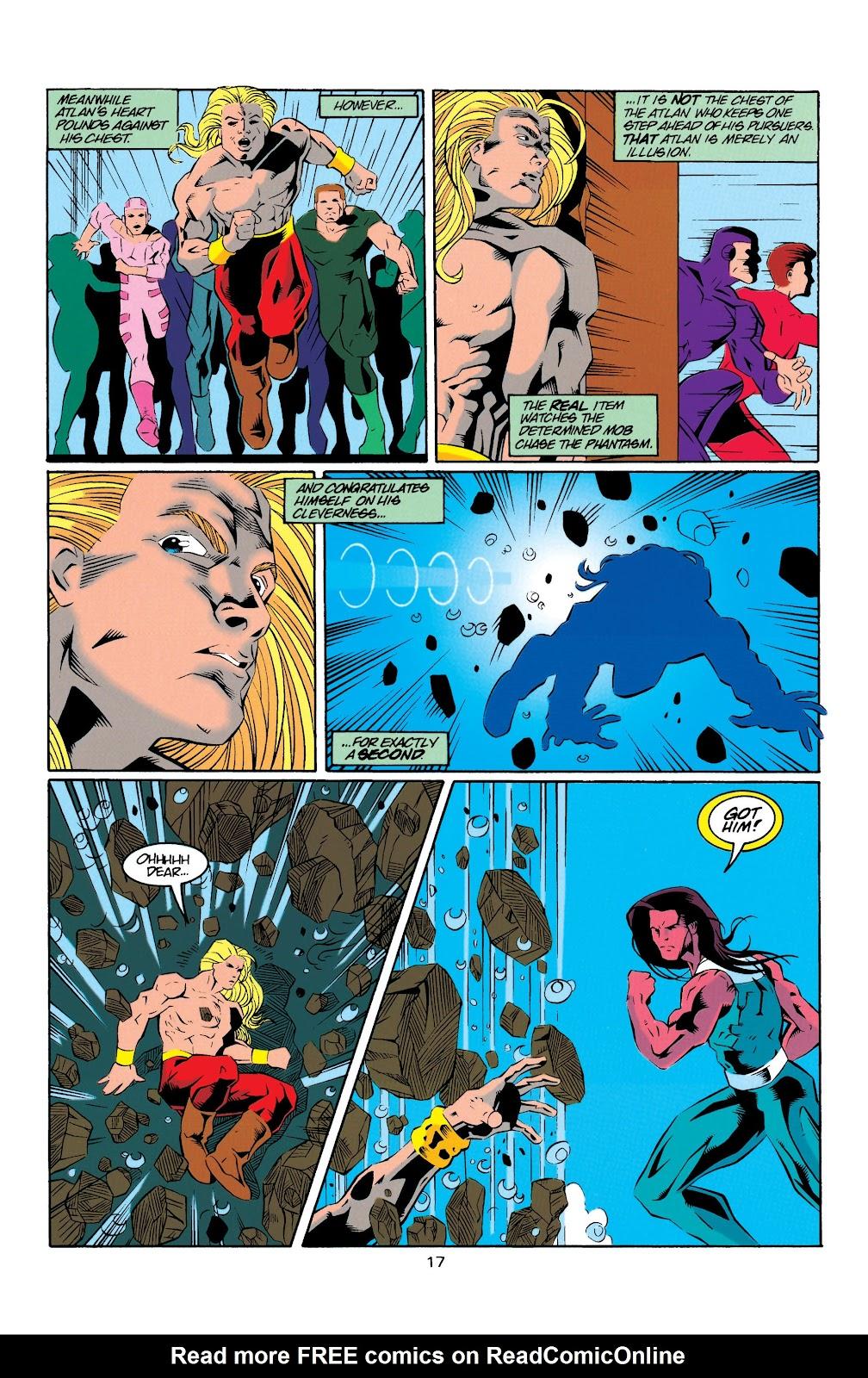 Aquaman (1994) Issue #20 #26 - English 17