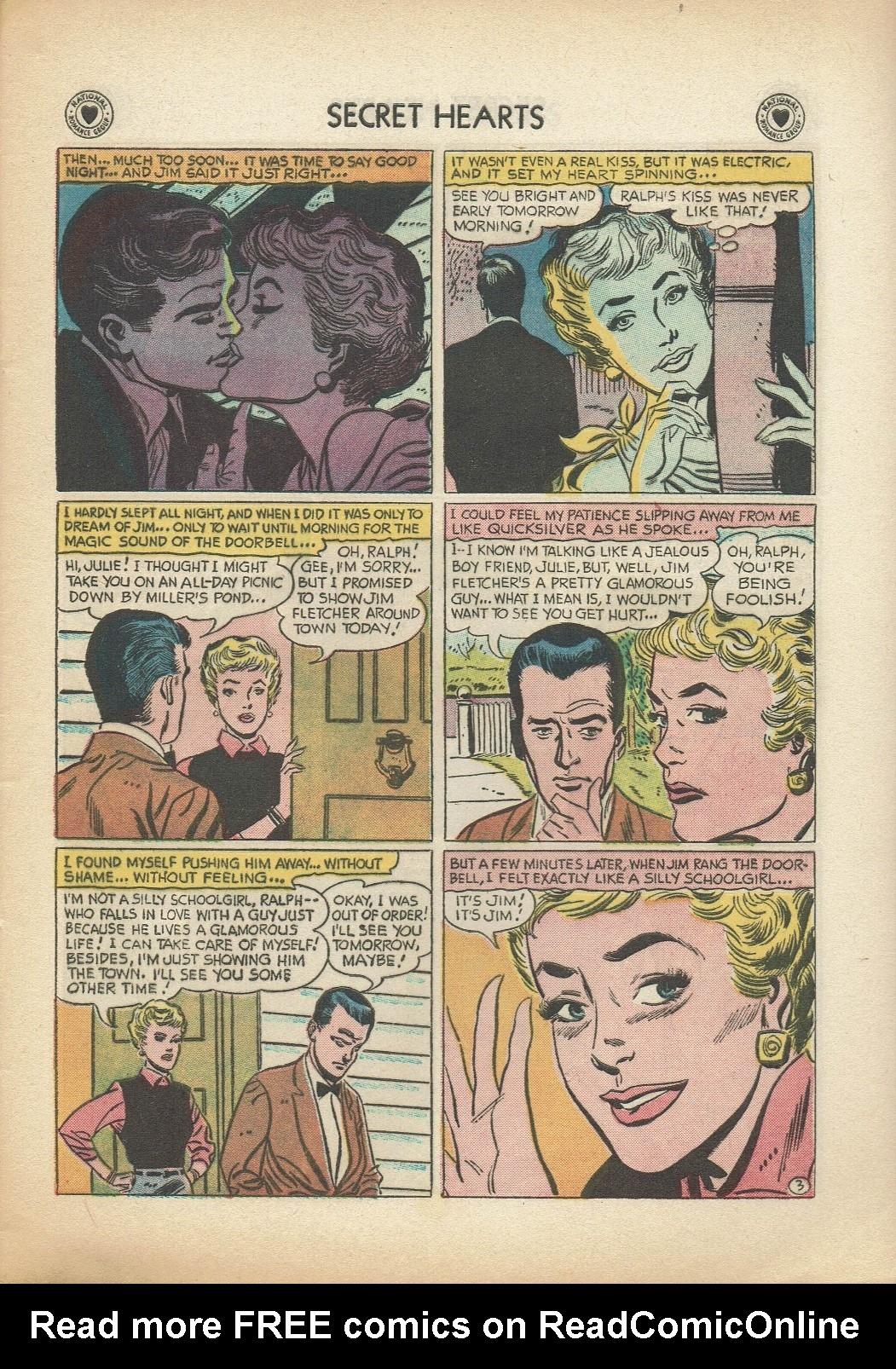 Read online Secret Hearts comic -  Issue #47 - 5