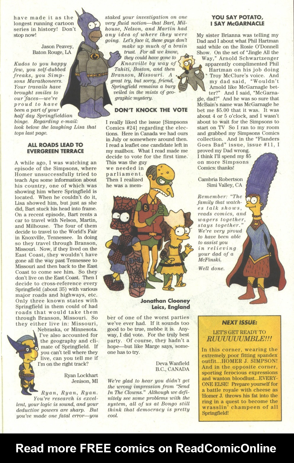 Read online Simpsons Comics comic -  Issue #28 - 25