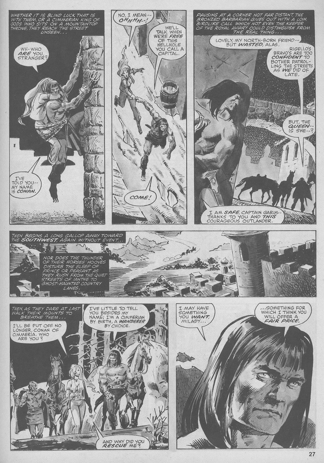 The Savage Sword Of Conan Issue #44 #45 - English 27
