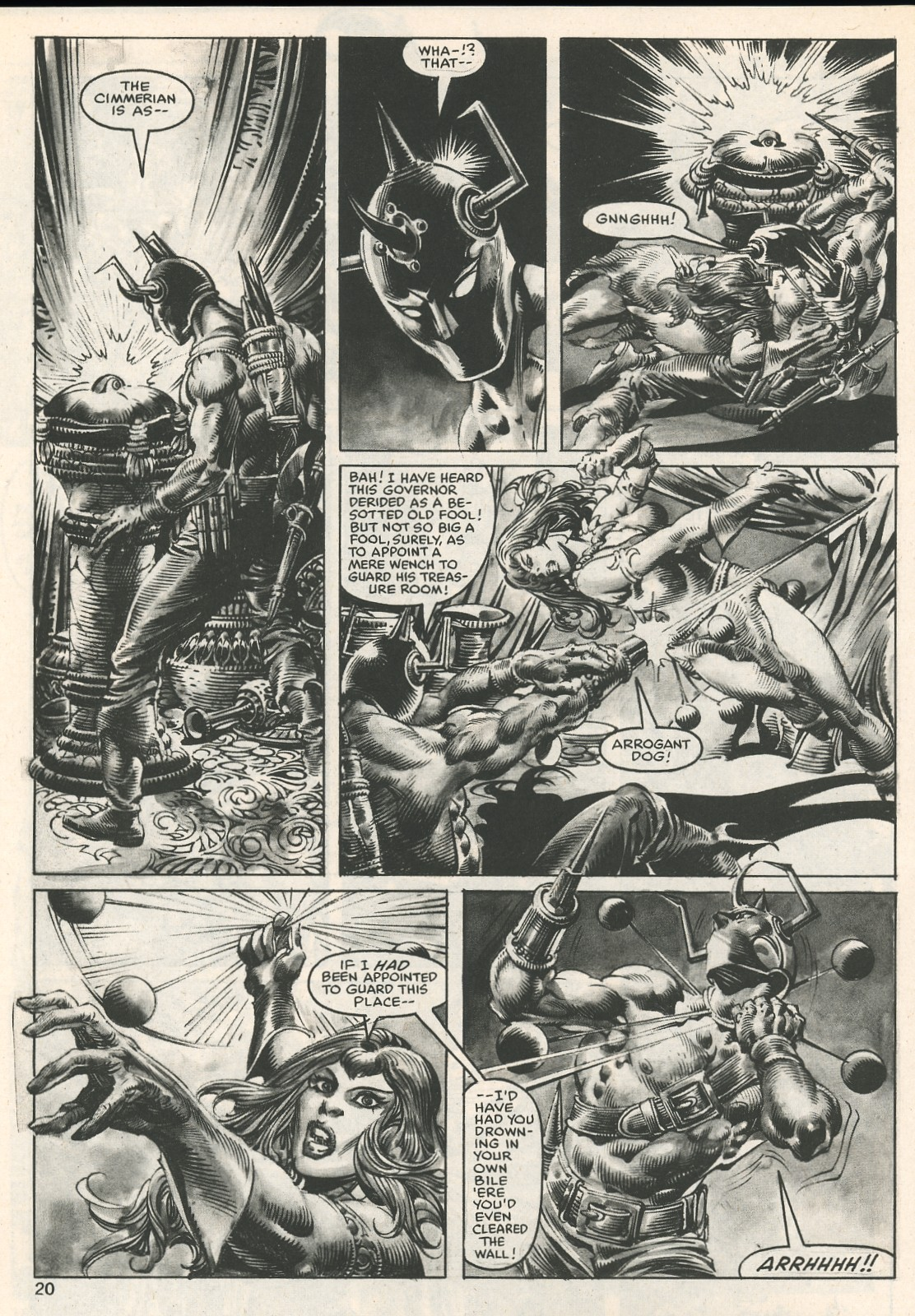 The Savage Sword Of Conan Issue #107 #108 - English 20