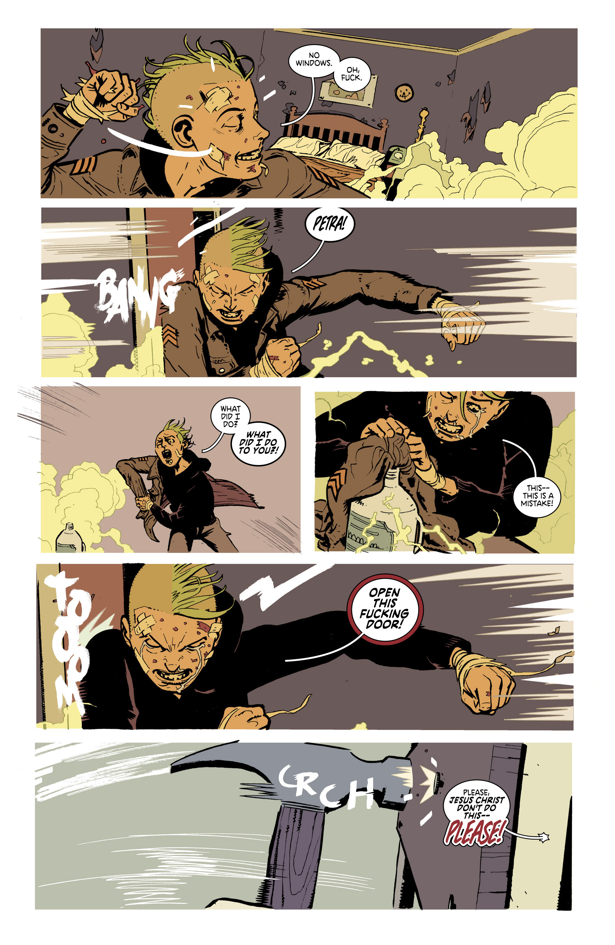 Read online Deadly Class comic -  Issue #21 - 16