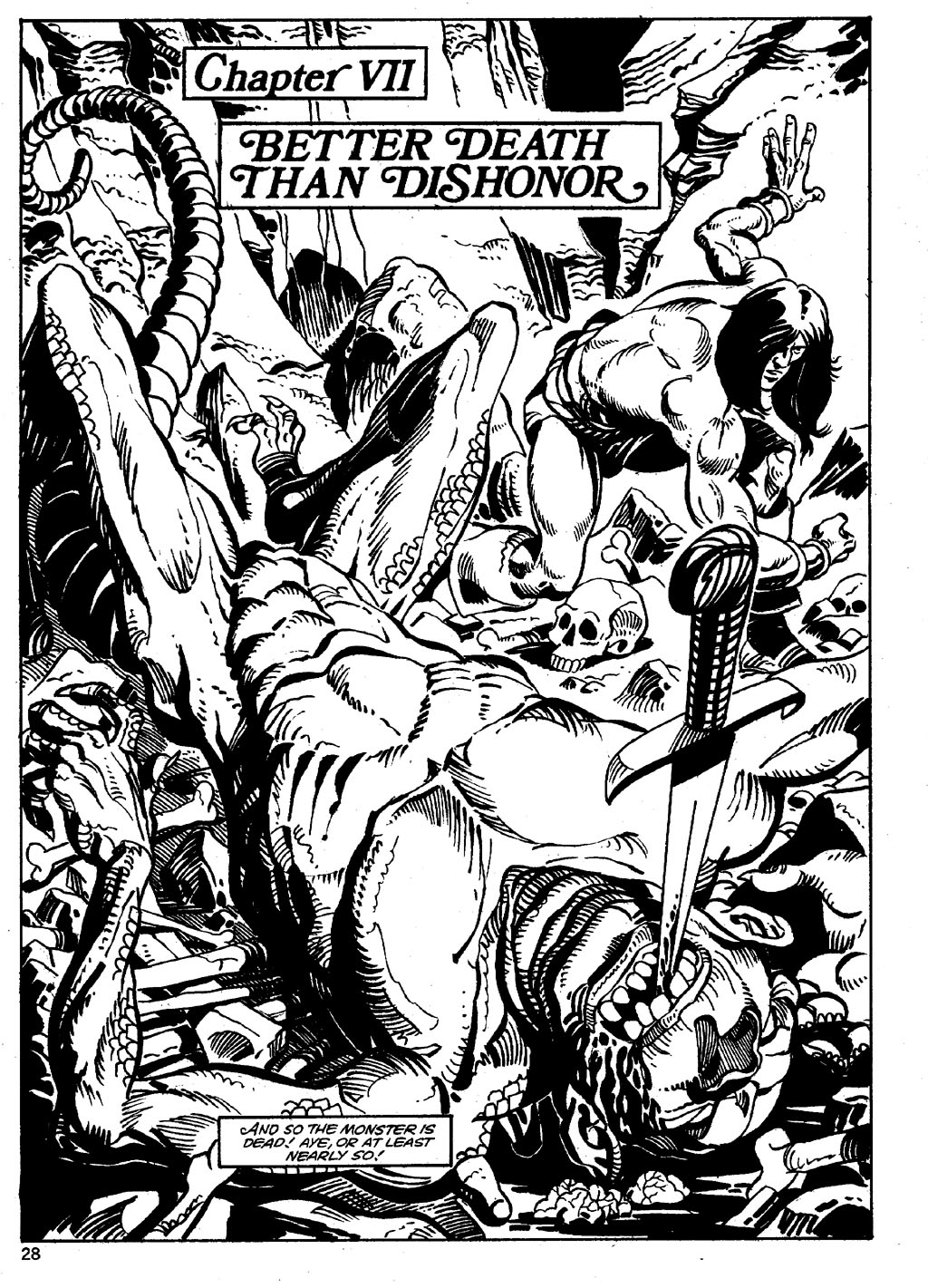 The Savage Sword Of Conan Issue #86 #87 - English 28