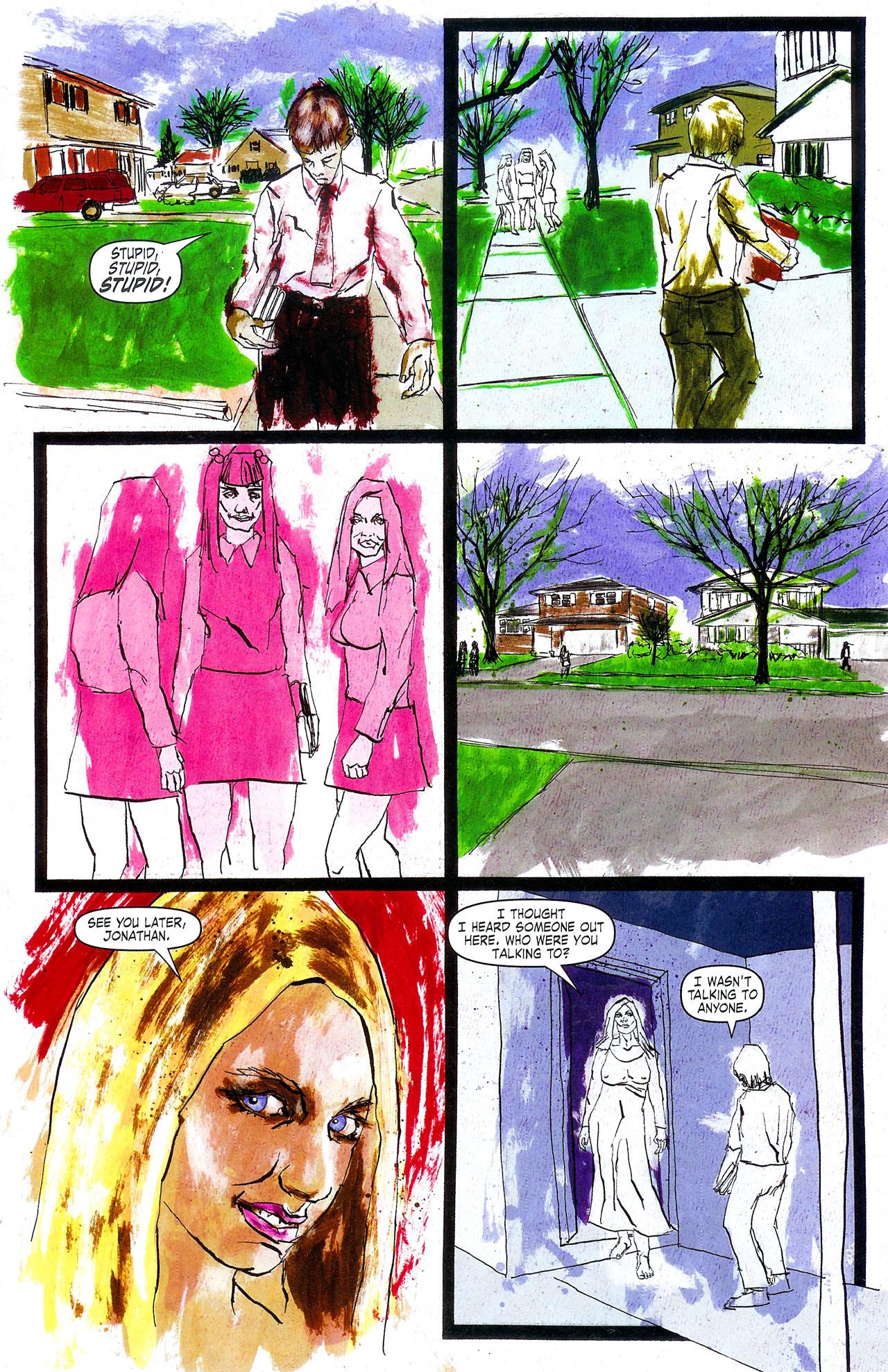 Read online Se7en comic -  Issue #4 - 9