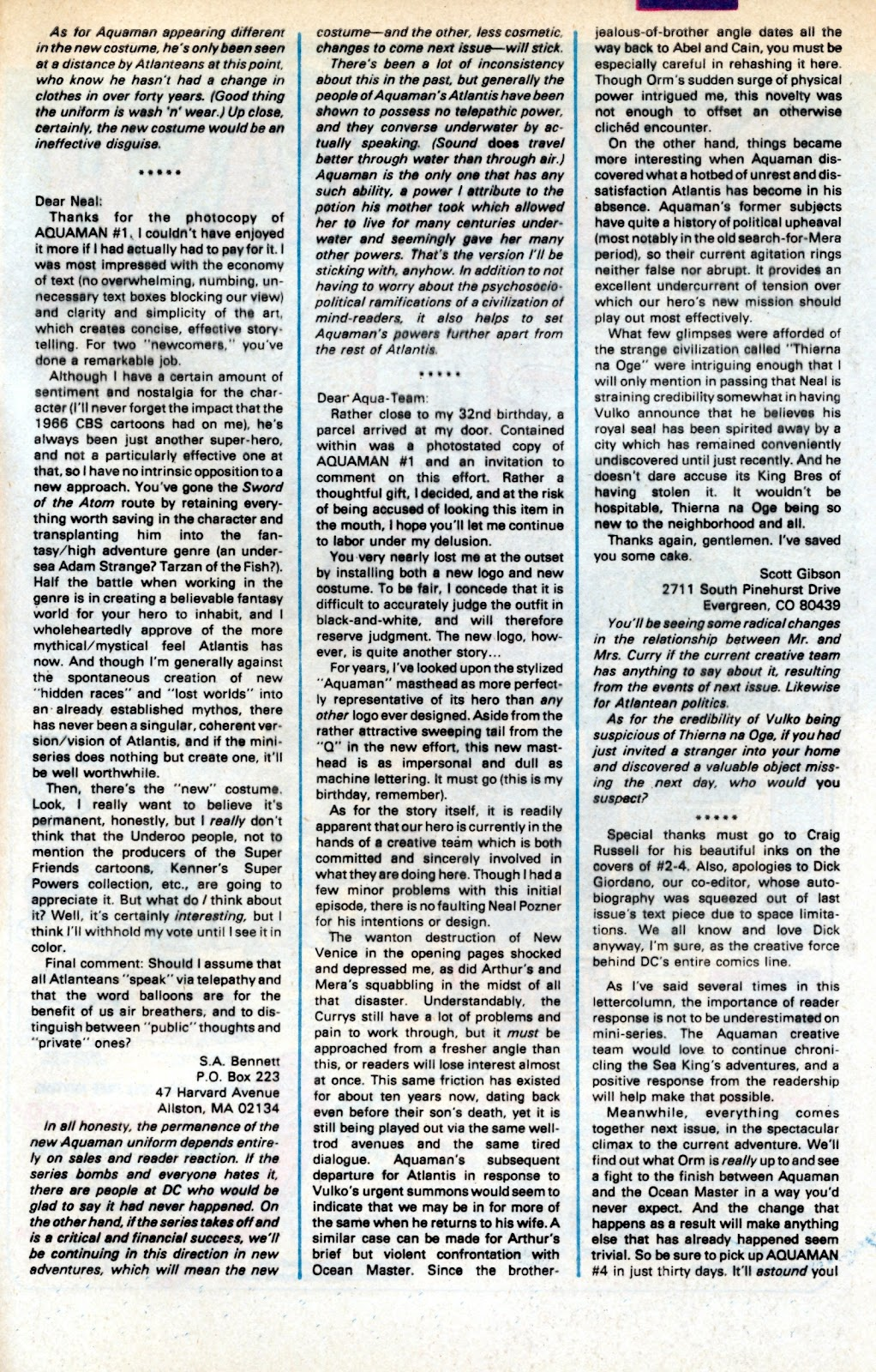 Aquaman (1986) Issue #3 #3 - English 36