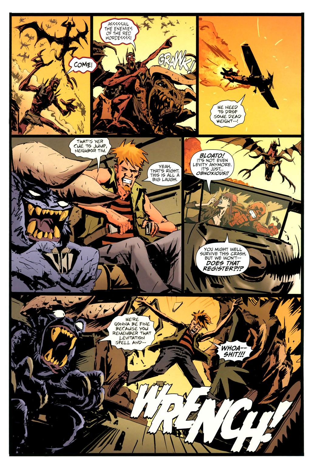 Strange Girl Issue #9 #10 - English 6
