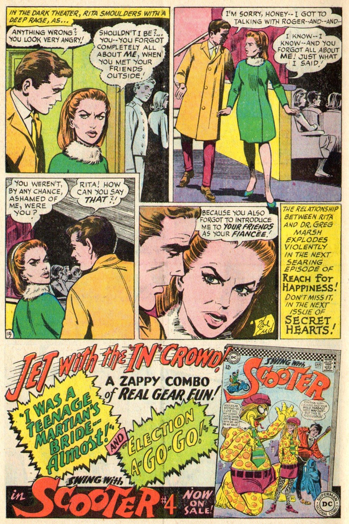 Read online Secret Hearts comic -  Issue #117 - 34