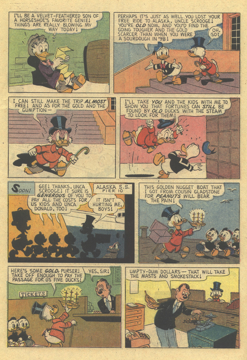 Uncle Scrooge (1953) Issue #86 #86 - English 7