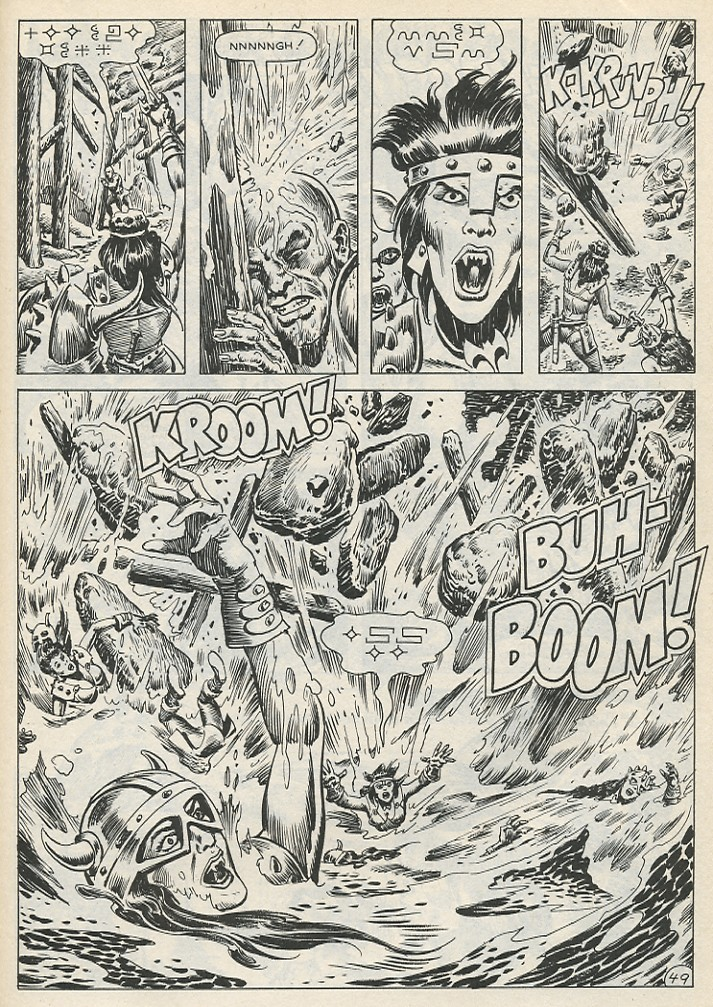 The Savage Sword Of Conan Issue #141 #142 - English 55