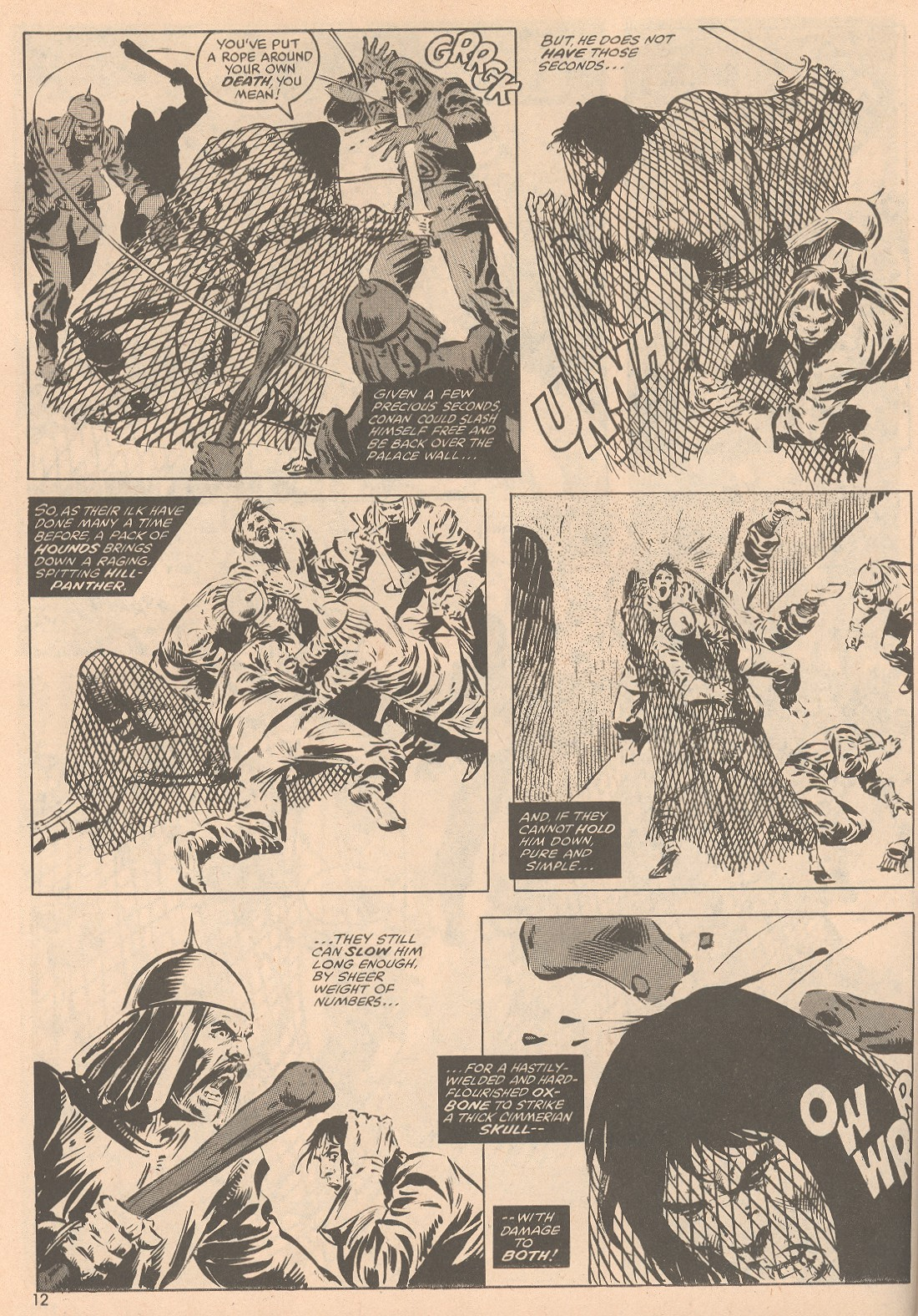 The Savage Sword Of Conan Issue #58 #59 - English 13