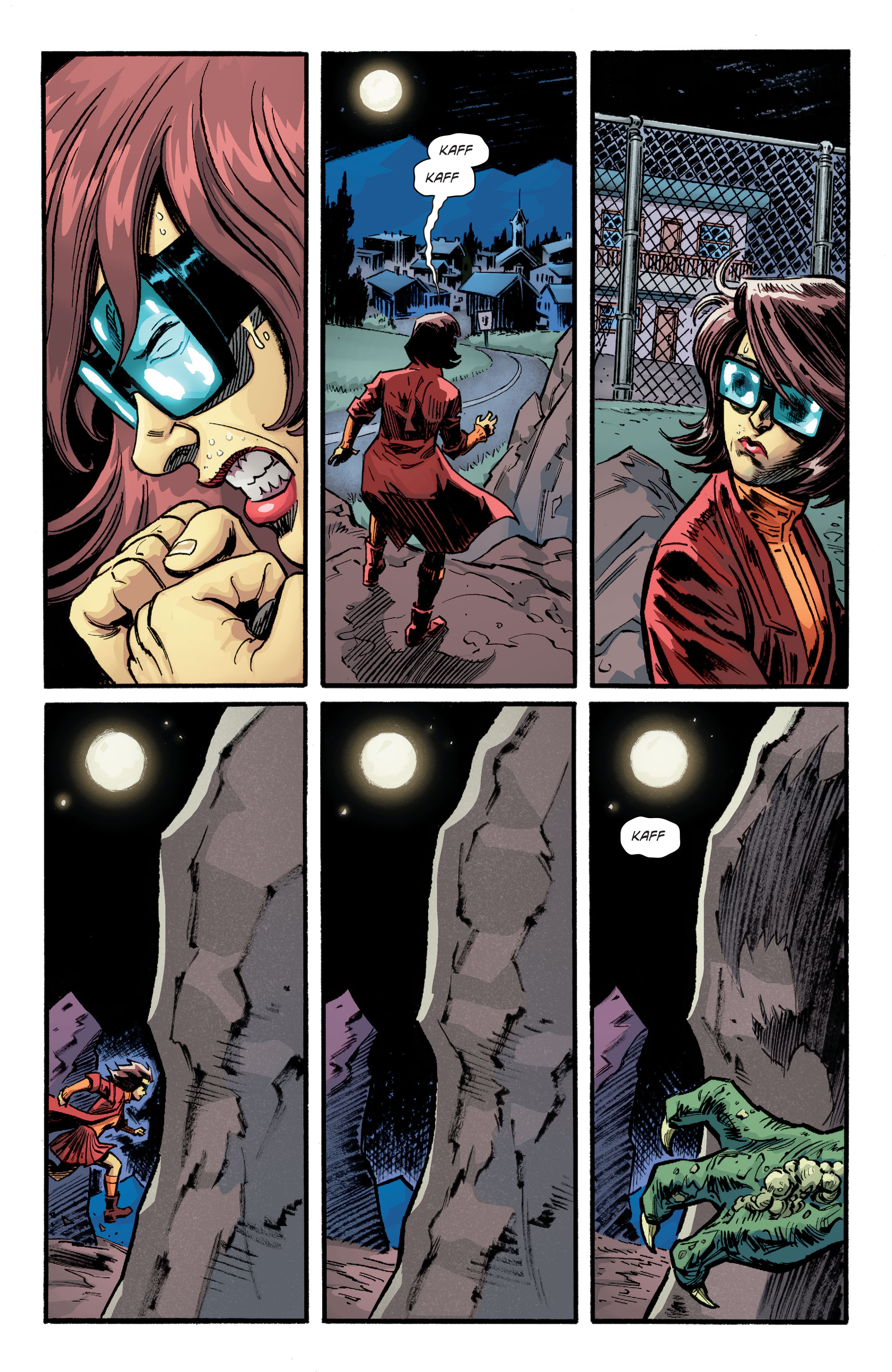 Read online Scooby Apocalypse comic -  Issue #9 - 17
