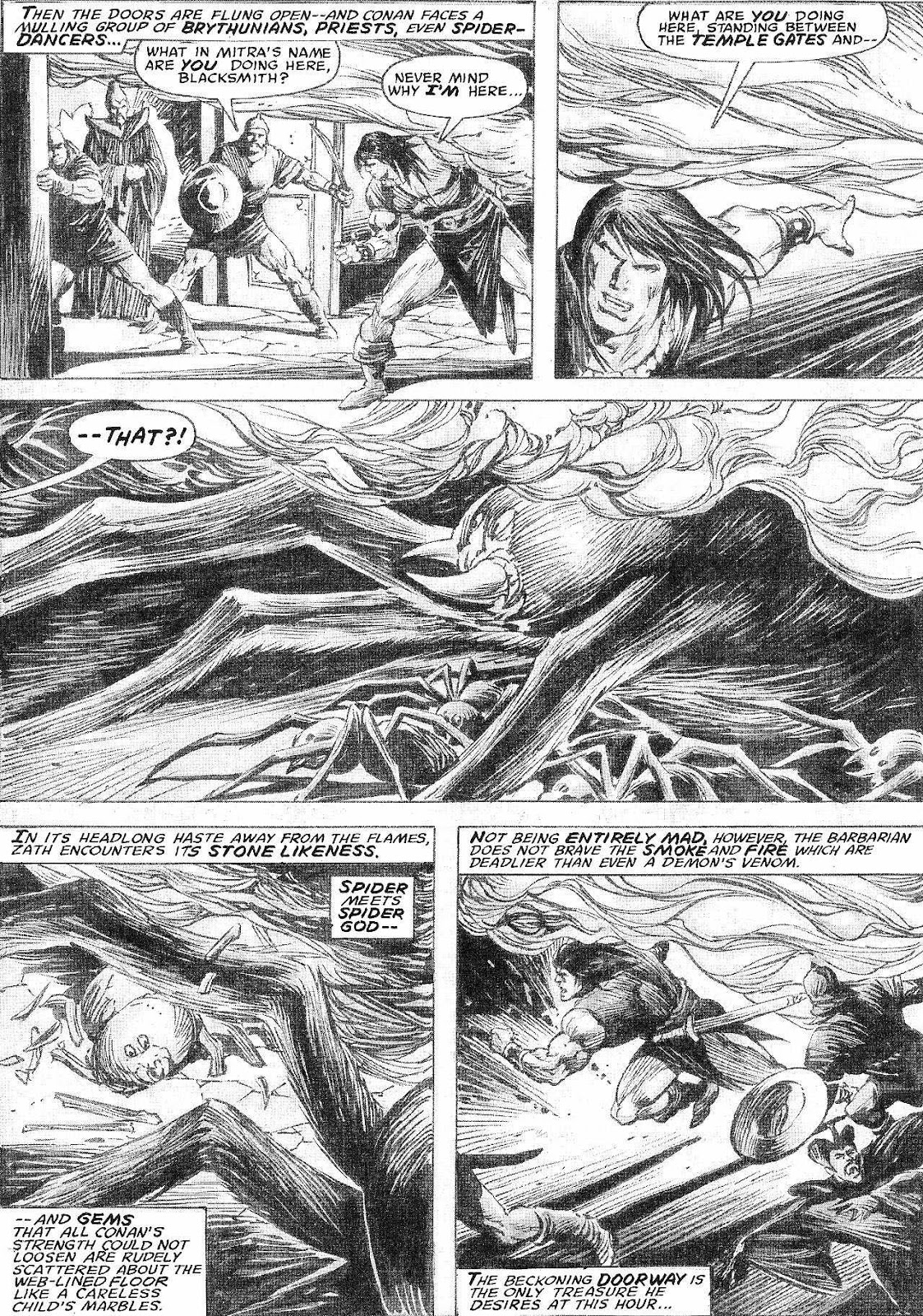 The Savage Sword Of Conan Issue #210 #211 - English 35