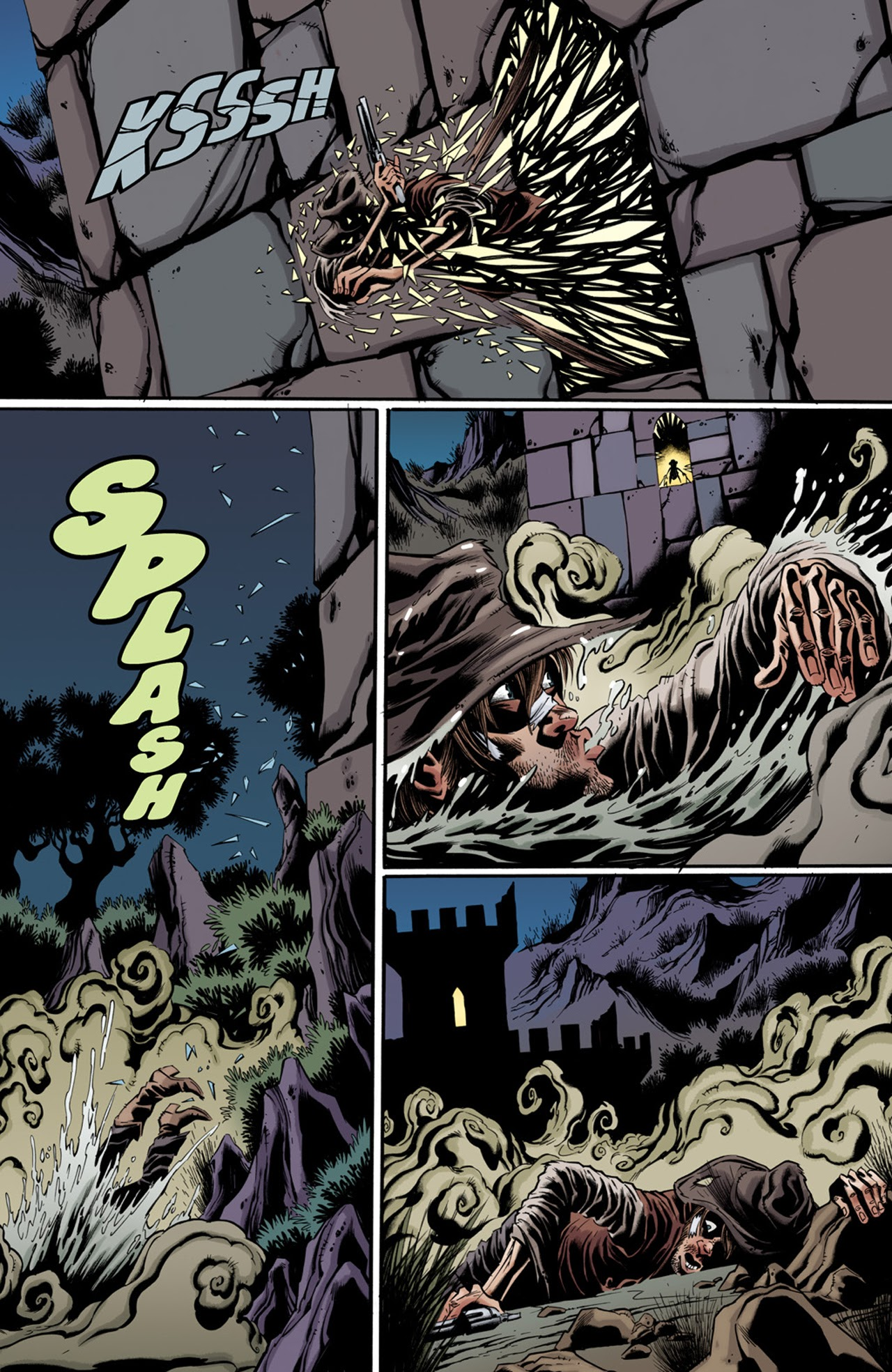 Read online Billy the Kid's Old Timey Oddities and the Orm of Loch Ness comic -  Issue #3 - 11